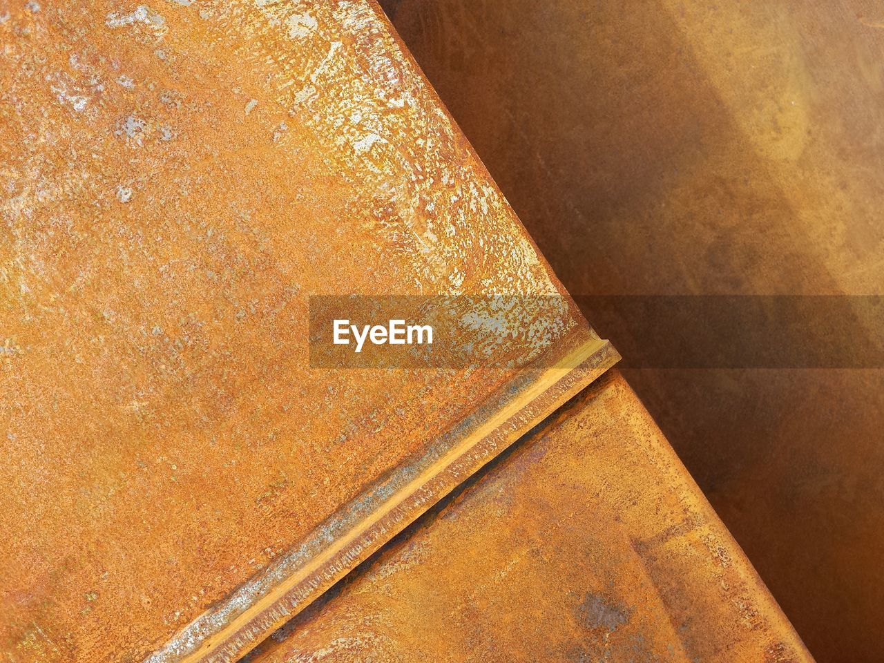 no people, close-up, high angle view, full frame, brown, metal, indoors, backgrounds, rusty, architecture, day, wood - material, pattern, orange color, paper, still life, textured, built structure, textile