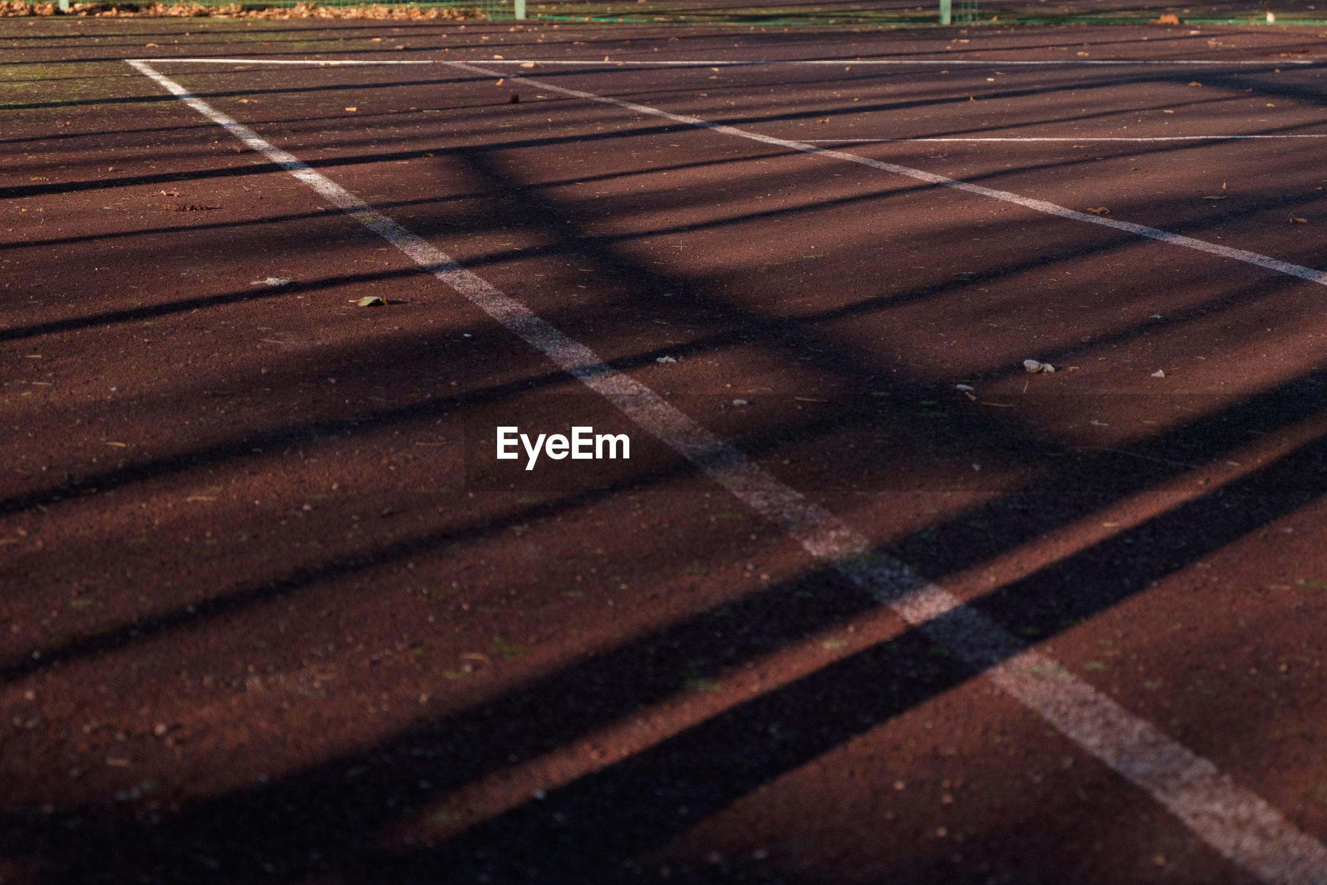 Markings on playing field
