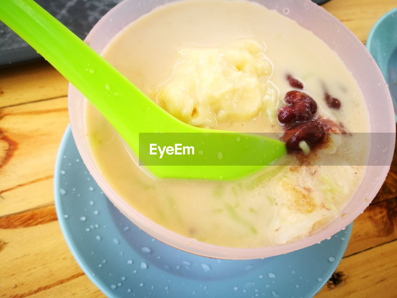 food and drink, freshness, food, sweet food, indulgence, indoors, table, close-up, ice cream, temptation, dessert, no people, frozen food, high angle view, bowl, ready-to-eat, serving size, day