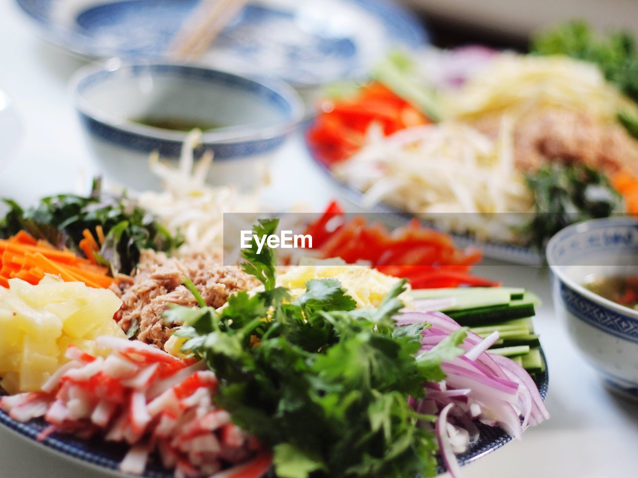 food and drink, ready-to-eat, food, healthy eating, freshness, plate, salad, indoors, serving size, vegetable, bowl, no people, table, close-up, meal, lettuce, day