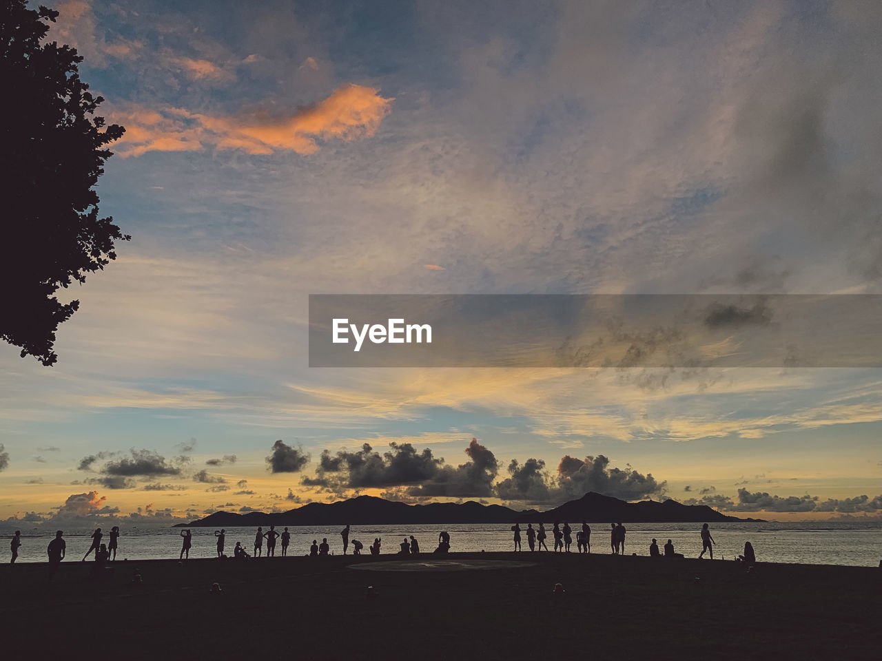 sky, sunset, cloud - sky, silhouette, beauty in nature, beach, water, scenics - nature, land, sea, orange color, nature, tranquility, tranquil scene, outdoors, dramatic sky, no people, non-urban scene, horizon over water