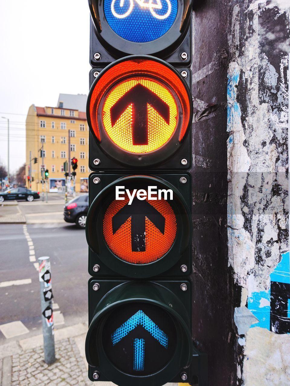 Traffic Signal In City