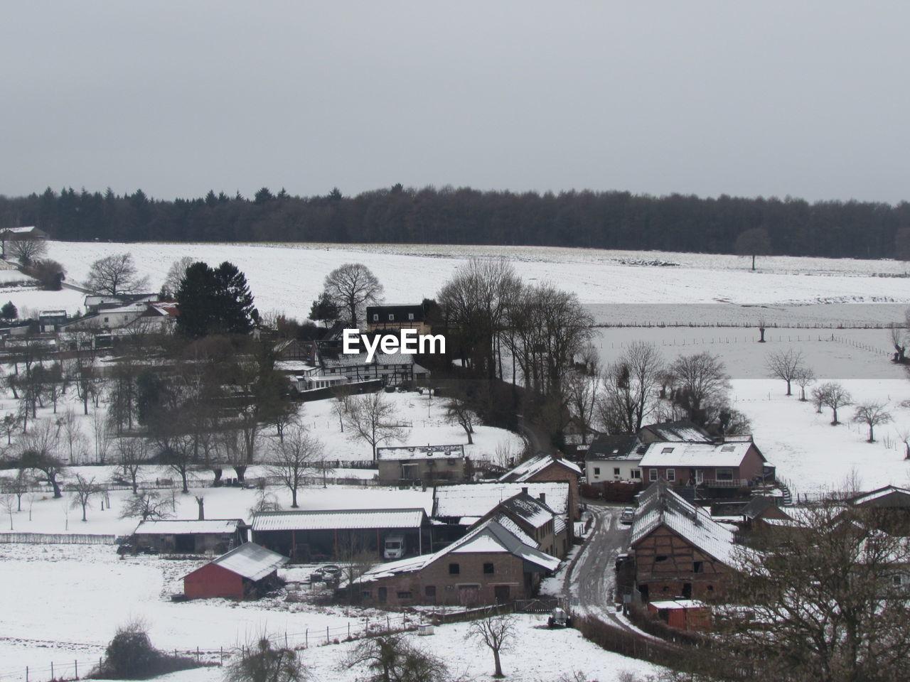 Built Structures In Winter