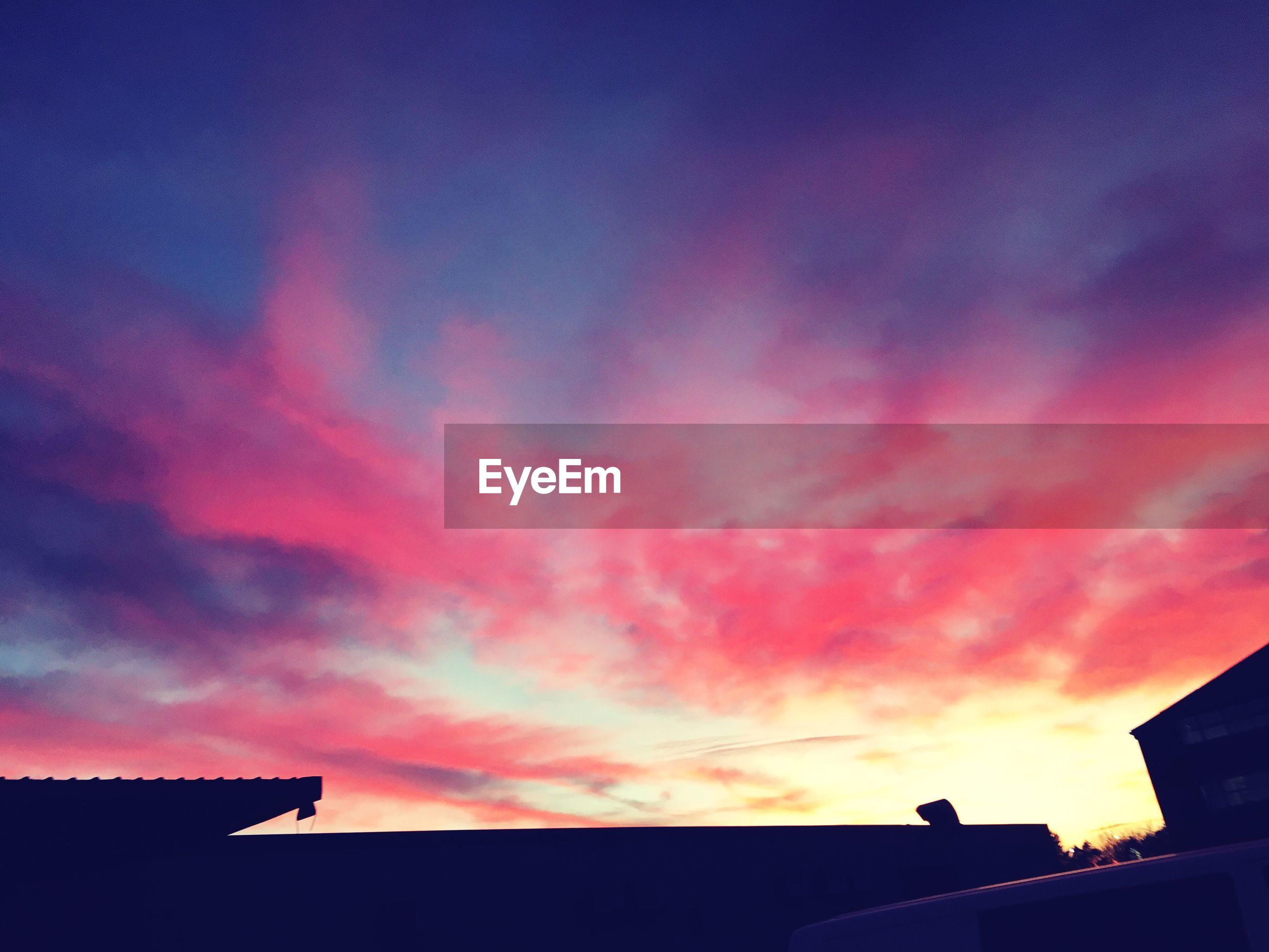 sunset, sky, silhouette, cloud - sky, nature, no people, outdoors, architecture, day