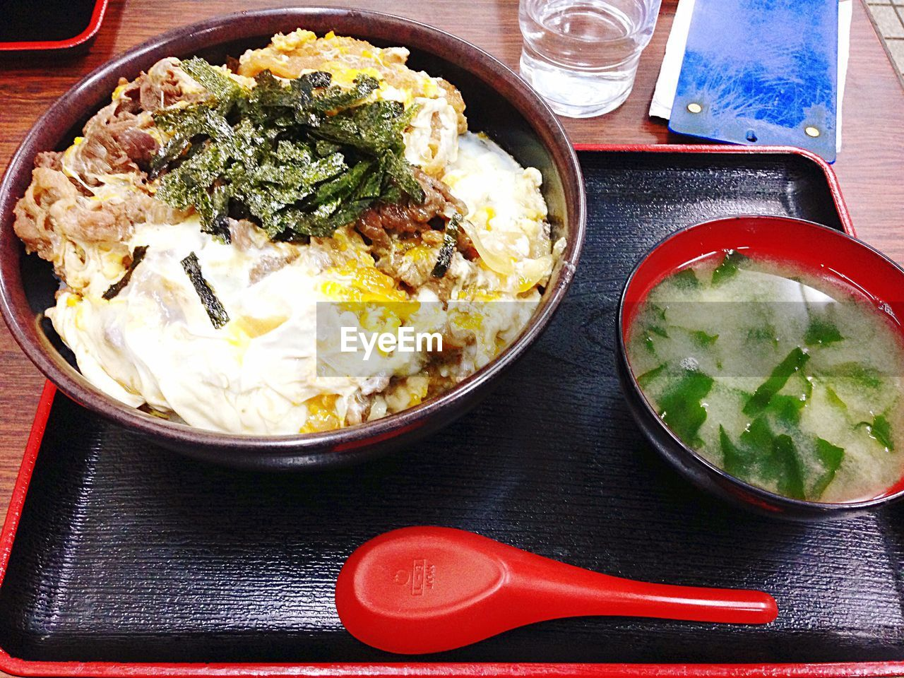food, food and drink, table, healthy eating, ready-to-eat, freshness, serving size, plate, indoors, bowl, rice - food staple, no people, meal, lunch, fried rice, comfort food, close-up, day
