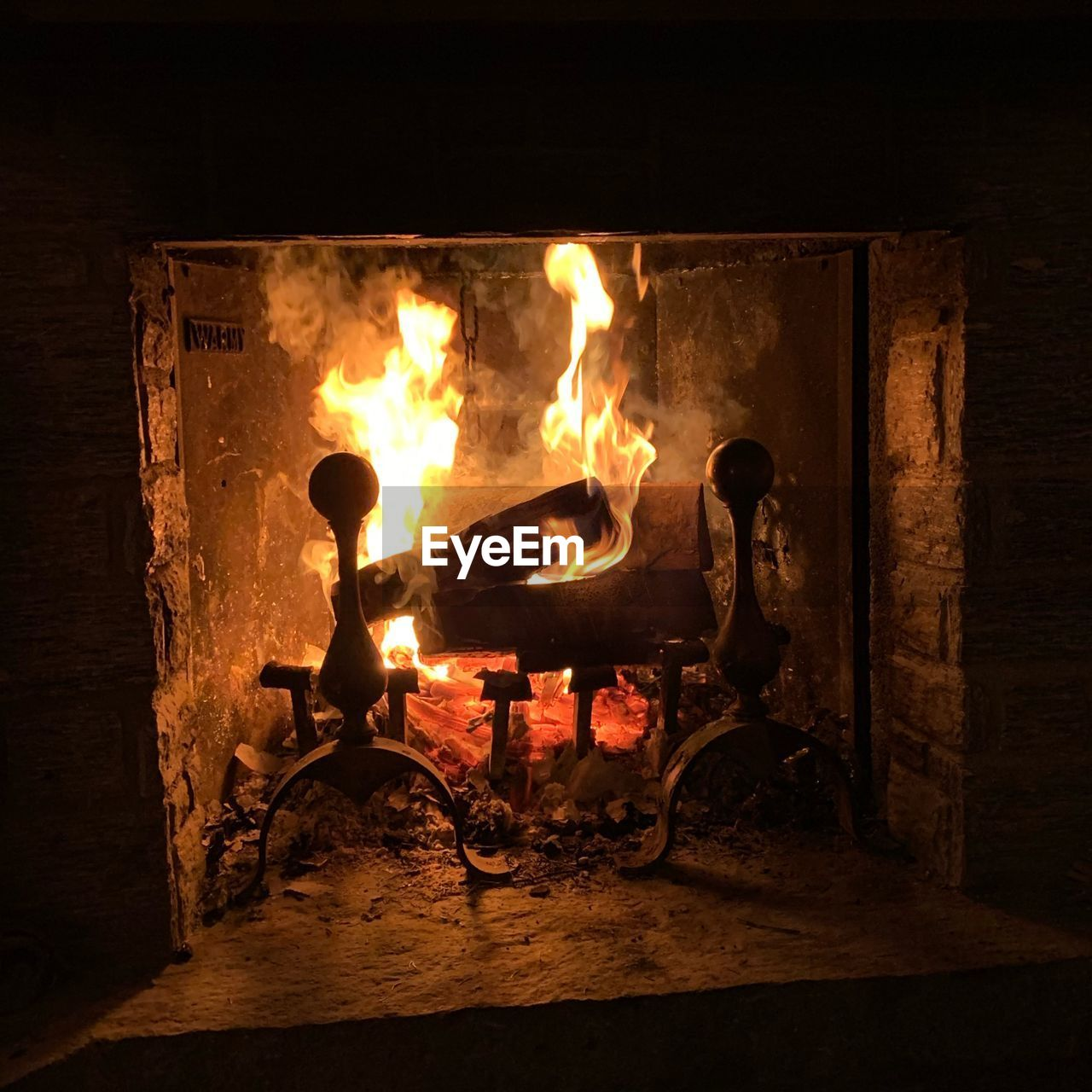 burning, fire, heat - temperature, fire - natural phenomenon, flame, indoors, wood - material, nature, wood, glowing, log, firewood, orange color, fireplace, no people, night, motion, illuminated