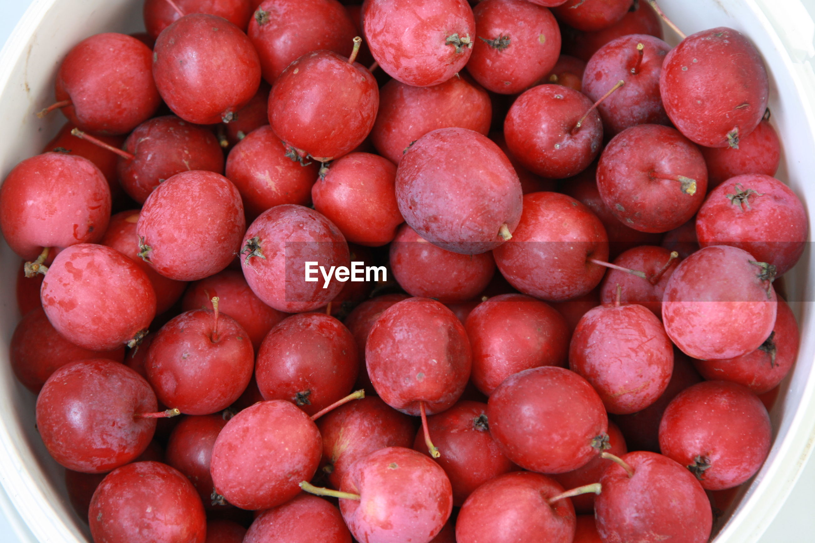 HIGH ANGLE VIEW OF FRUITS IN BOWL