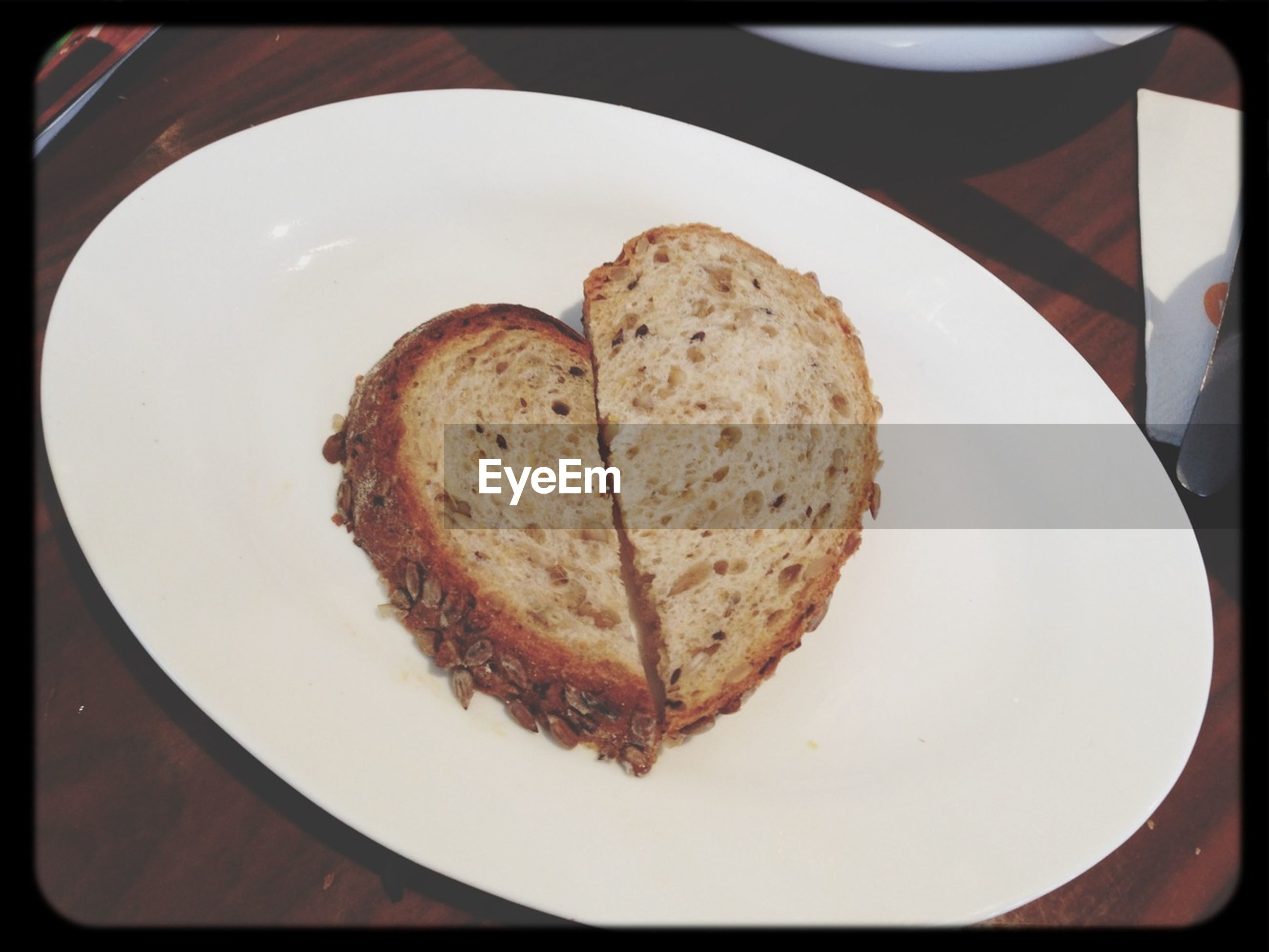food and drink, food, ready-to-eat, indoors, freshness, sweet food, plate, dessert, still life, indulgence, unhealthy eating, transfer print, close-up, high angle view, auto post production filter, baked, breakfast, bread, temptation, table