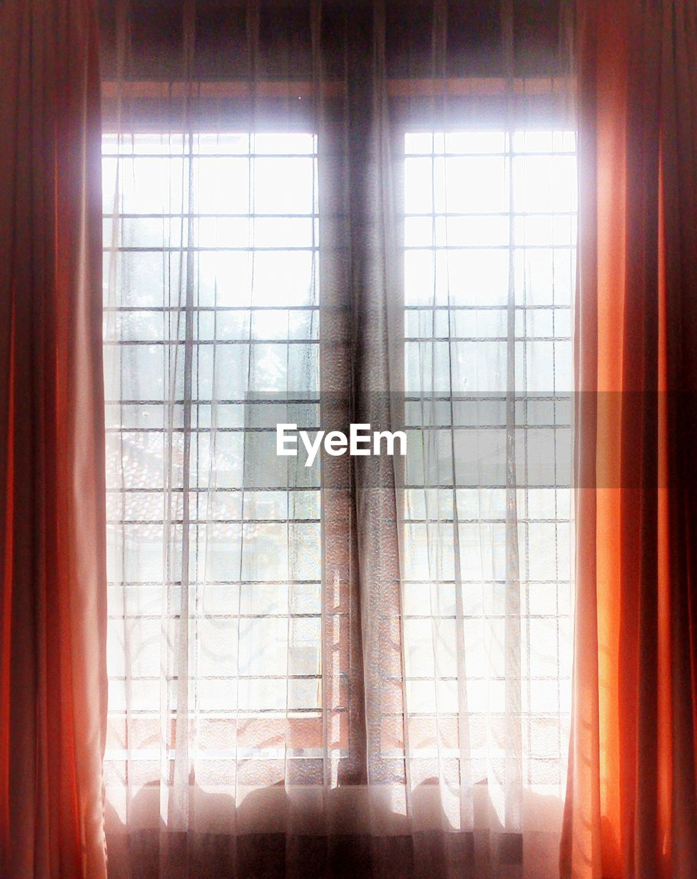 window, indoors, sunlight, curtain, lens flare, day, sunbeam, drapes, sun, no people, low angle view, close-up, nature