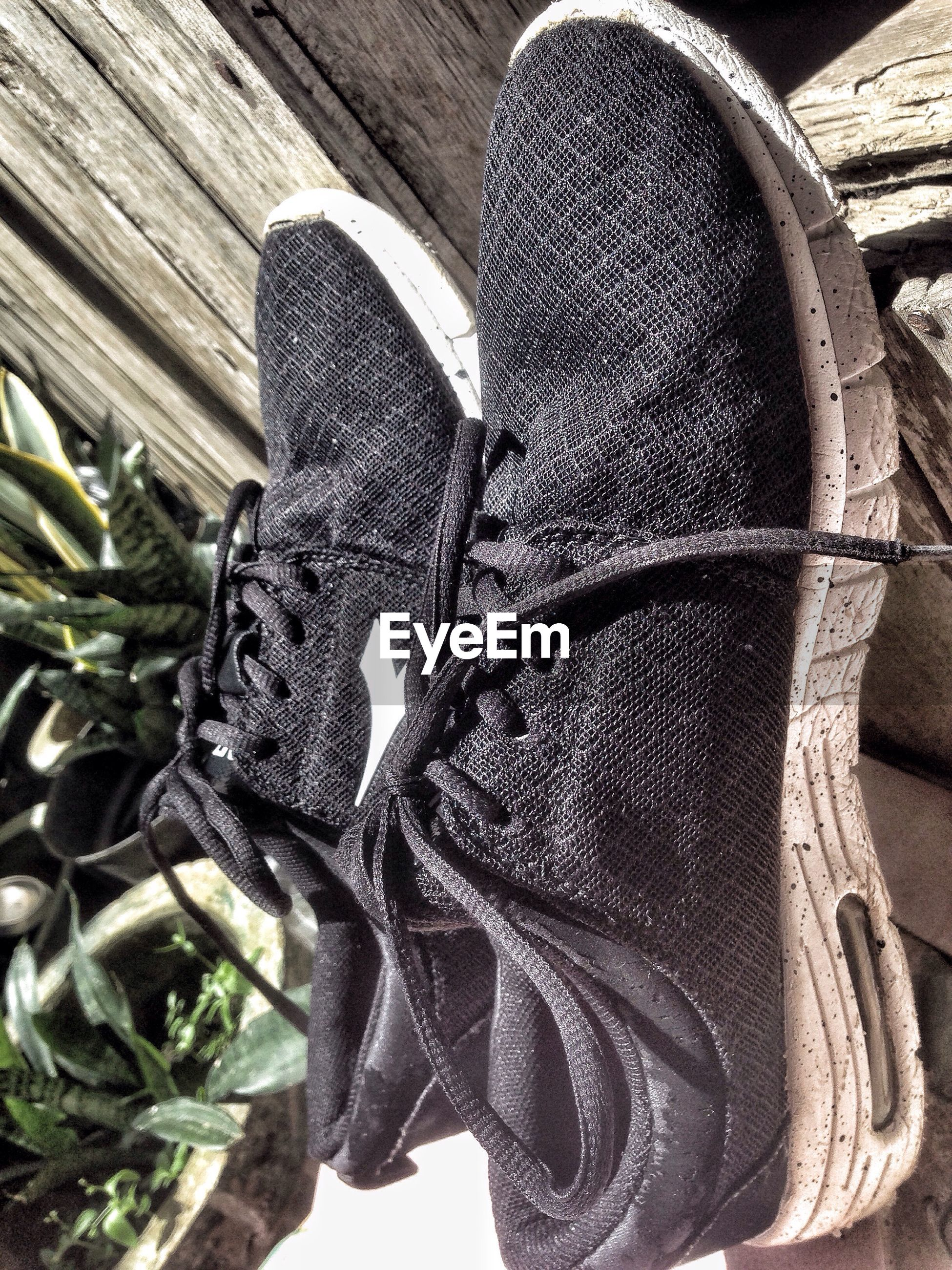 shoe, low section, high angle view, human foot, close-up, footwear, person, personal perspective