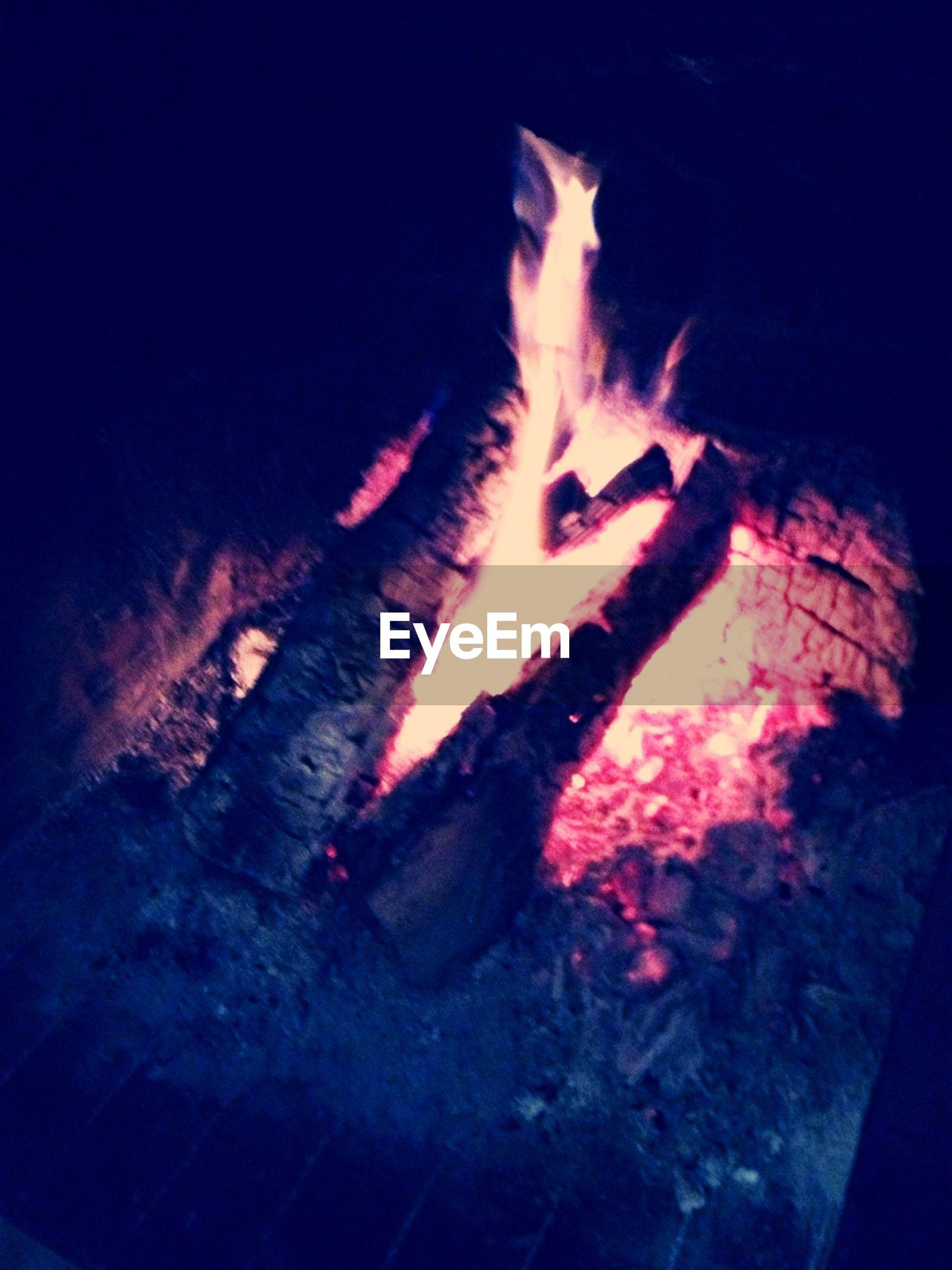 fire - natural phenomenon, night, burning, flame, heat - temperature, fish, glowing, animal themes, bonfire, high angle view, motion, indoors, sea life, illuminated, light - natural phenomenon, underwater, water, fire, no people, long exposure