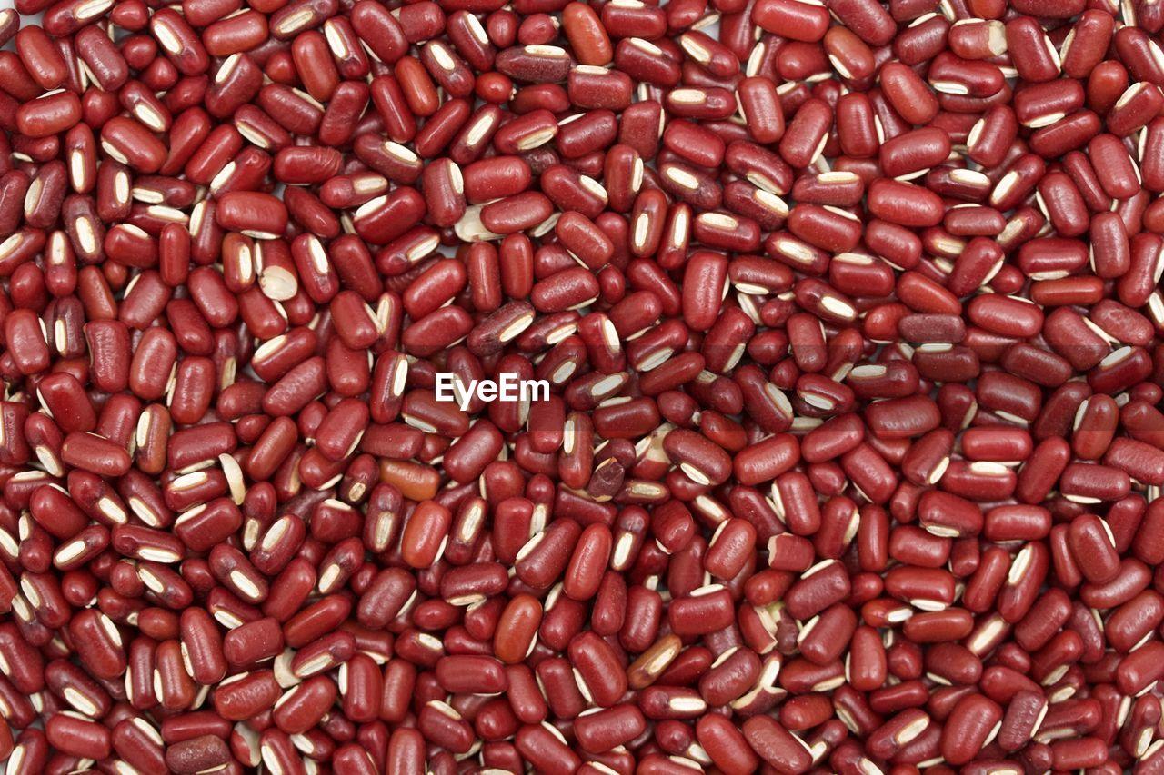 Full frame shot of kidney beans