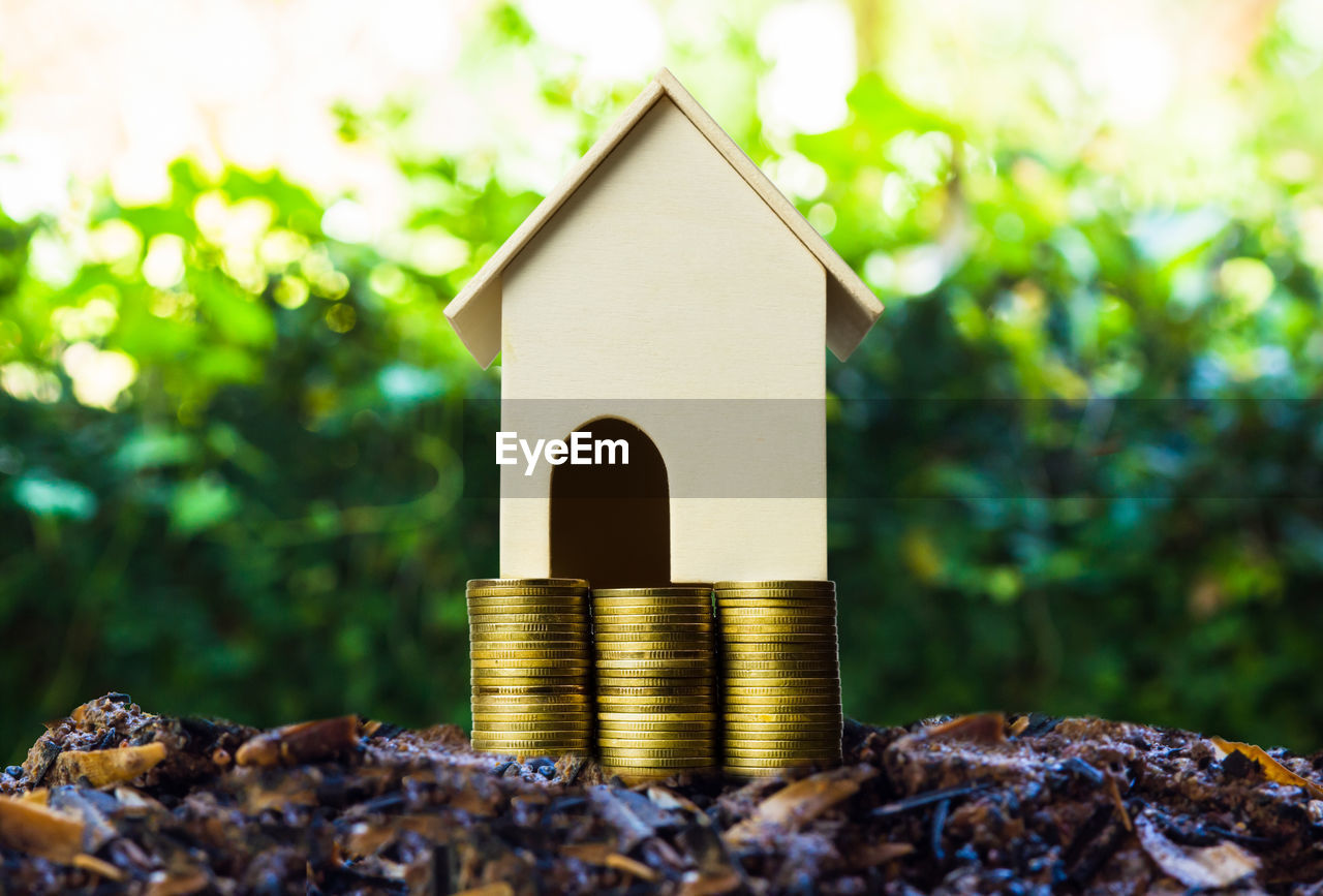 finance, coin, nature, stack, architecture, focus on foreground, no people, close-up, day, business, wealth, large group of objects, built structure, savings, growth, building, gold colored, business finance and industry, metal, outdoors, small, economy