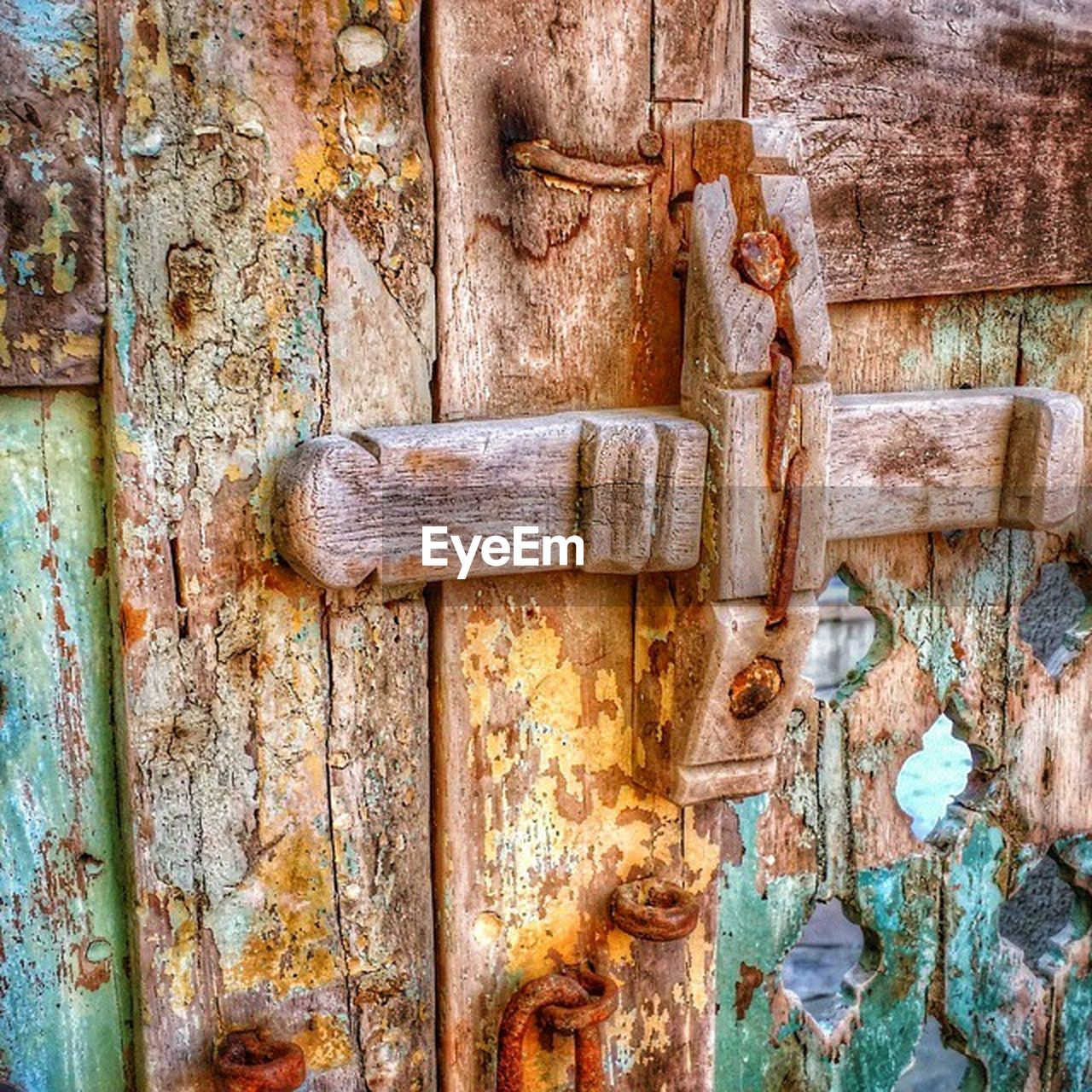 door, metal, rusty, closed, old, weathered, wood - material, close-up, damaged, latch, no people, run-down, abandoned, safety, outdoors, protection, day, bad condition, textured, full frame, hinge