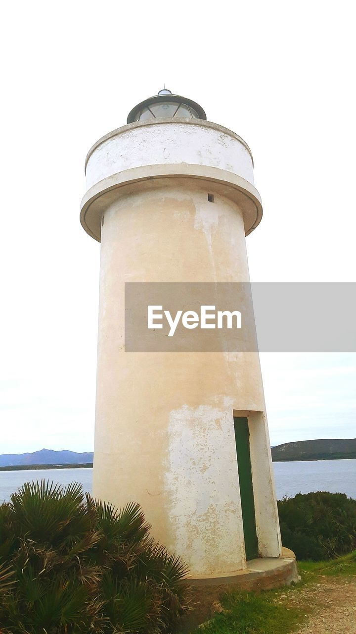 day, lighthouse, architecture, no people, guidance, built structure, outdoors, building exterior, nature, sea, sky