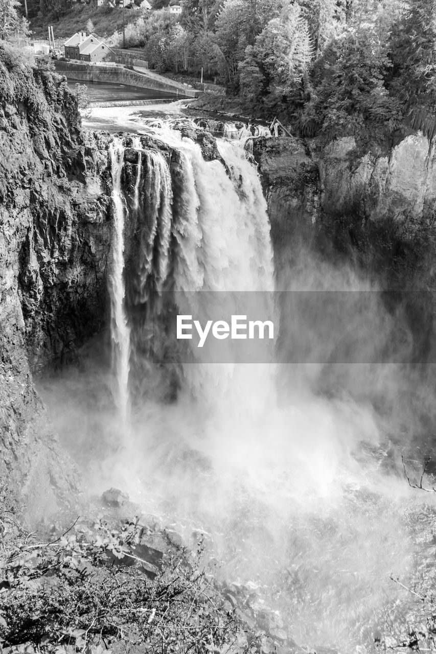 scenics - nature, waterfall, beauty in nature, water, motion, power, flowing water, nature, power in nature, long exposure, environment, no people, day, rock, blurred motion, non-urban scene, tree, river, travel destinations, flowing, outdoors, falling water