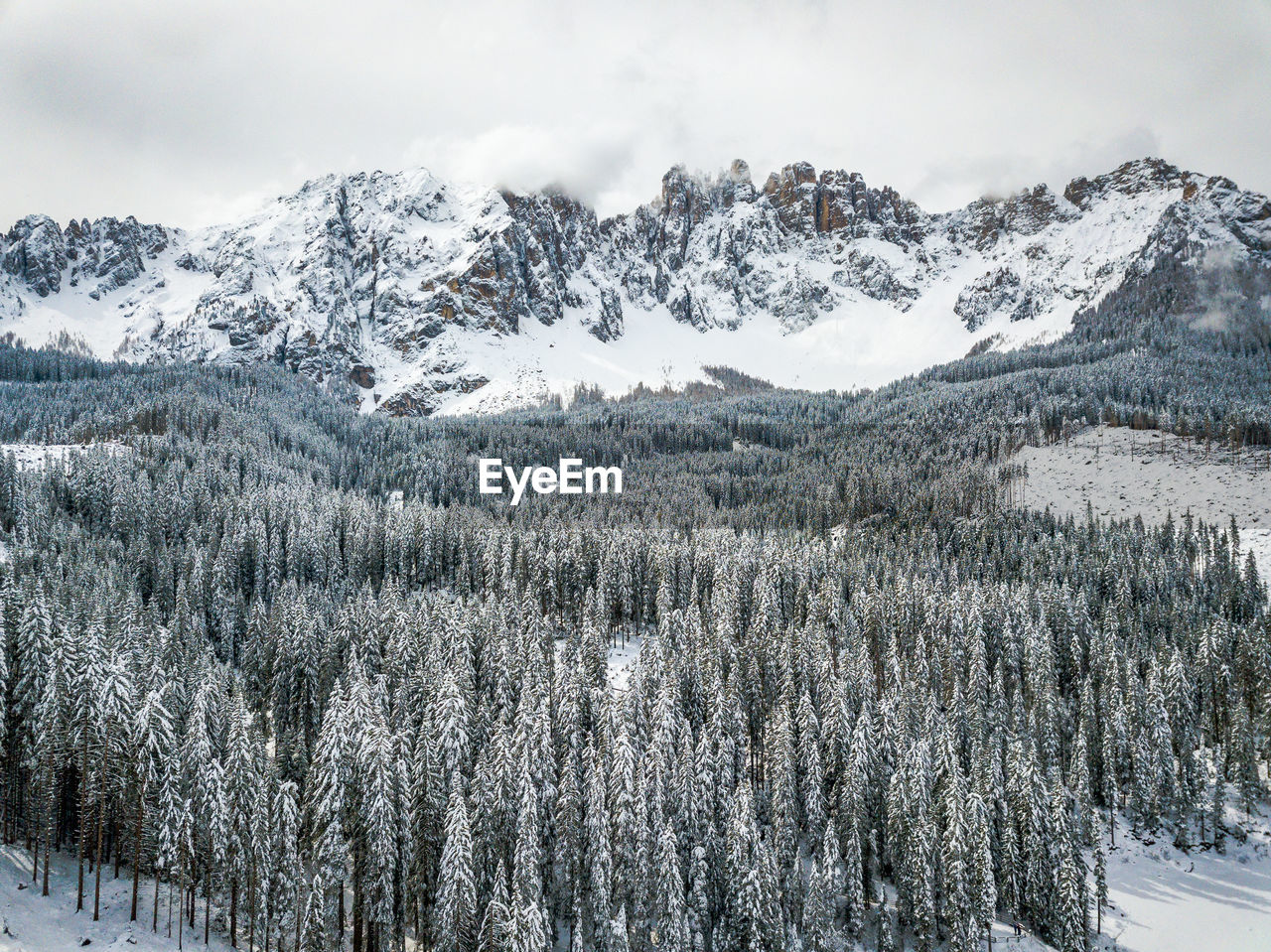 snow, winter, cold temperature, beauty in nature, scenics - nature, mountain, plant, tree, tranquil scene, tranquility, environment, snowcapped mountain, no people, nature, sky, day, non-urban scene, land, mountain range, outdoors, pine tree, coniferous tree, powder snow