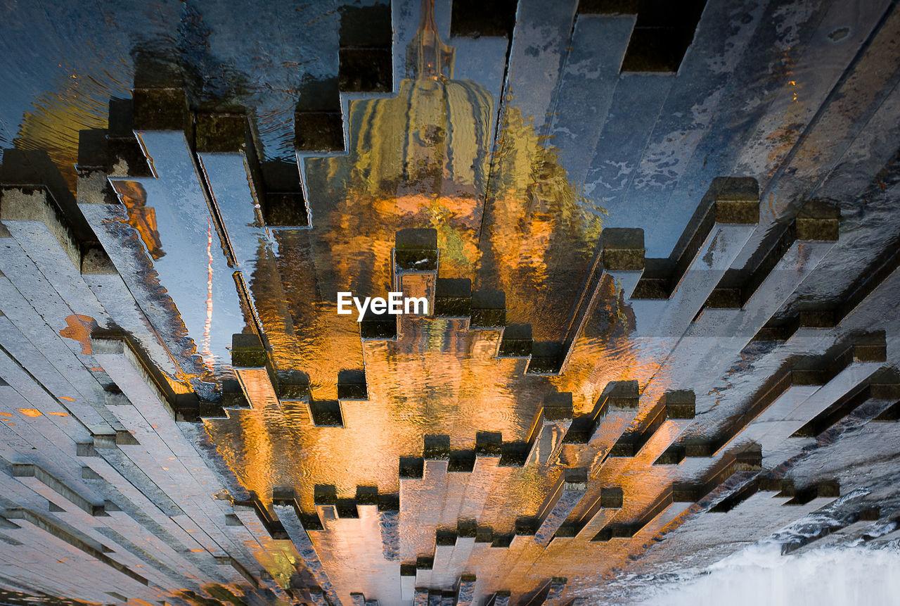 Digital Composite Image Of Cityscape Against Sky