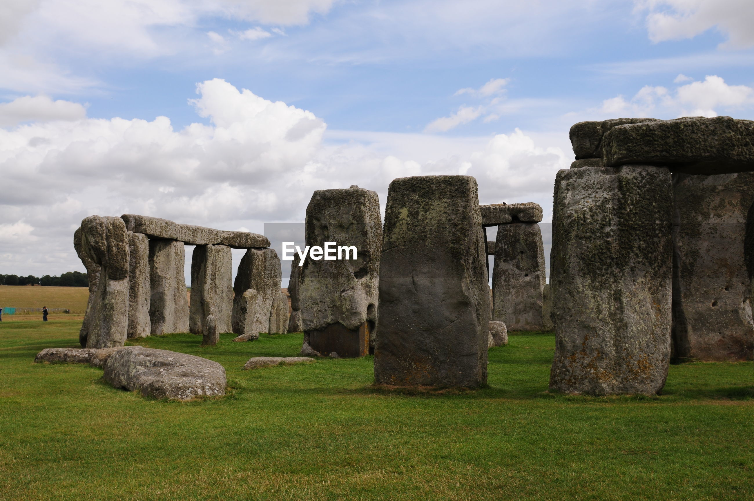 Stonehenge against sky