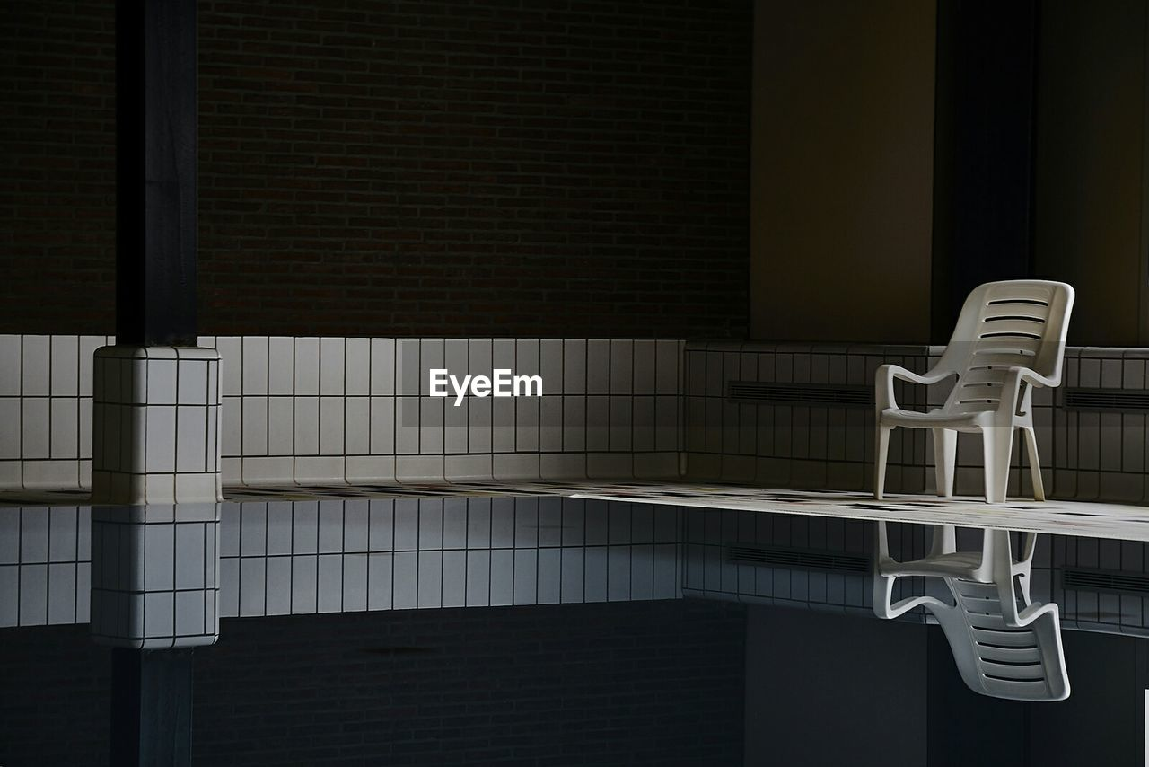 Chair On Poolside