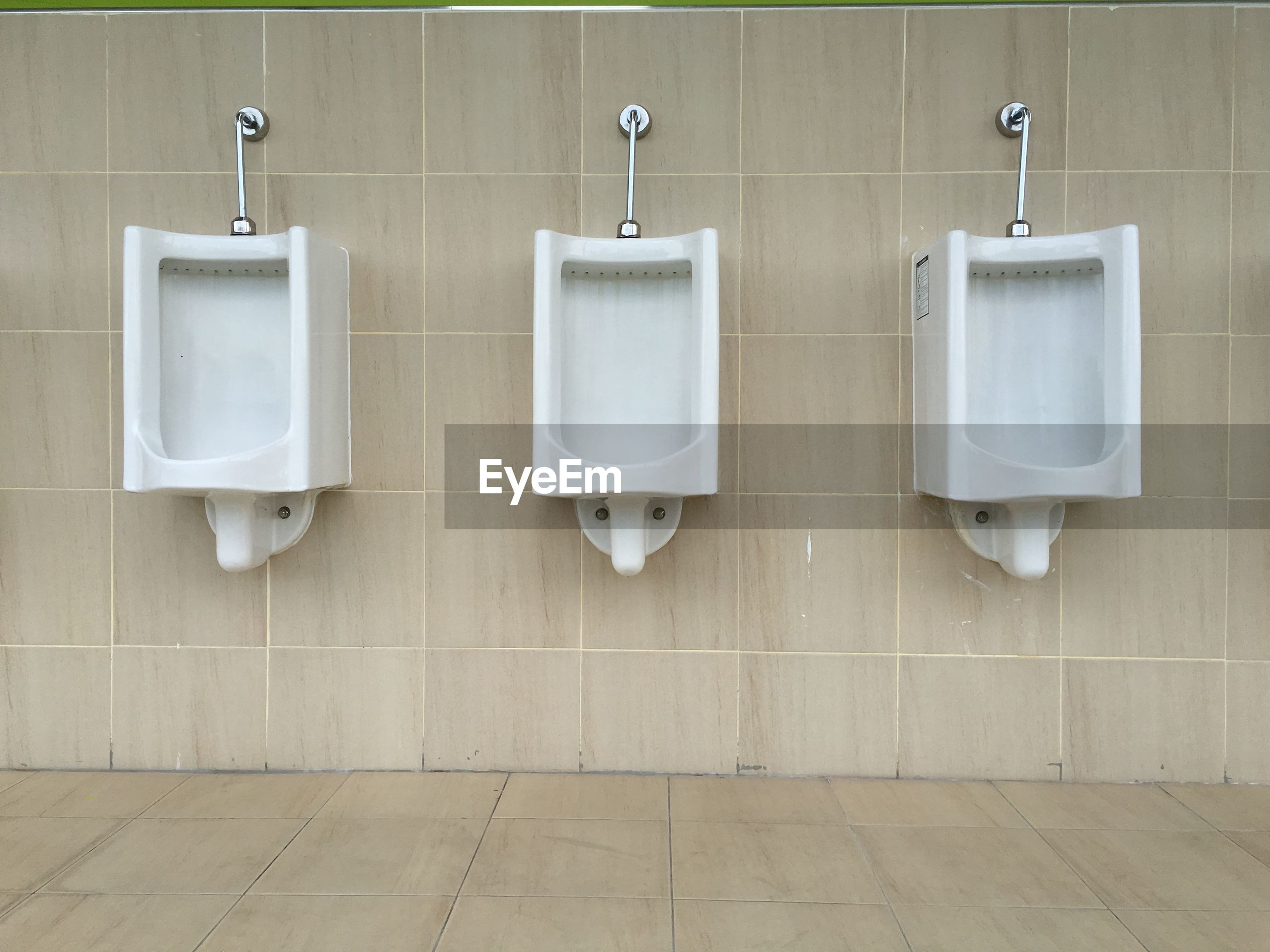 urinal, hygiene, hanging, absence, public restroom, convenience, no people, bathroom, urgency, indoors, day, flushing toilet