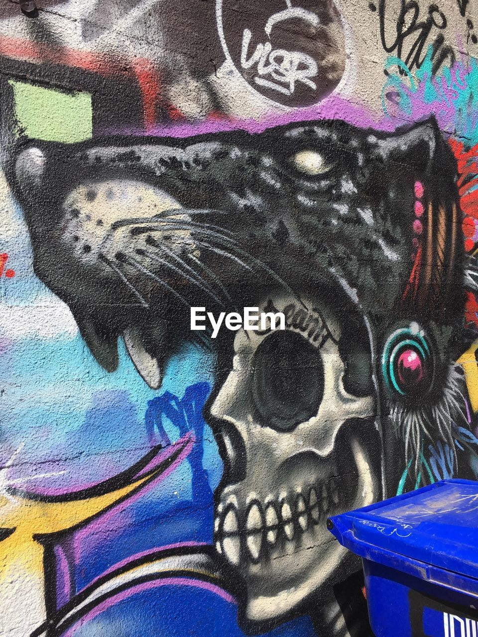 multi colored, graffiti, art and craft, no people, representation, creativity, close-up, full frame, human representation, backgrounds, wall - building feature, street art, craft, pattern, blue, indoors, painted, mural