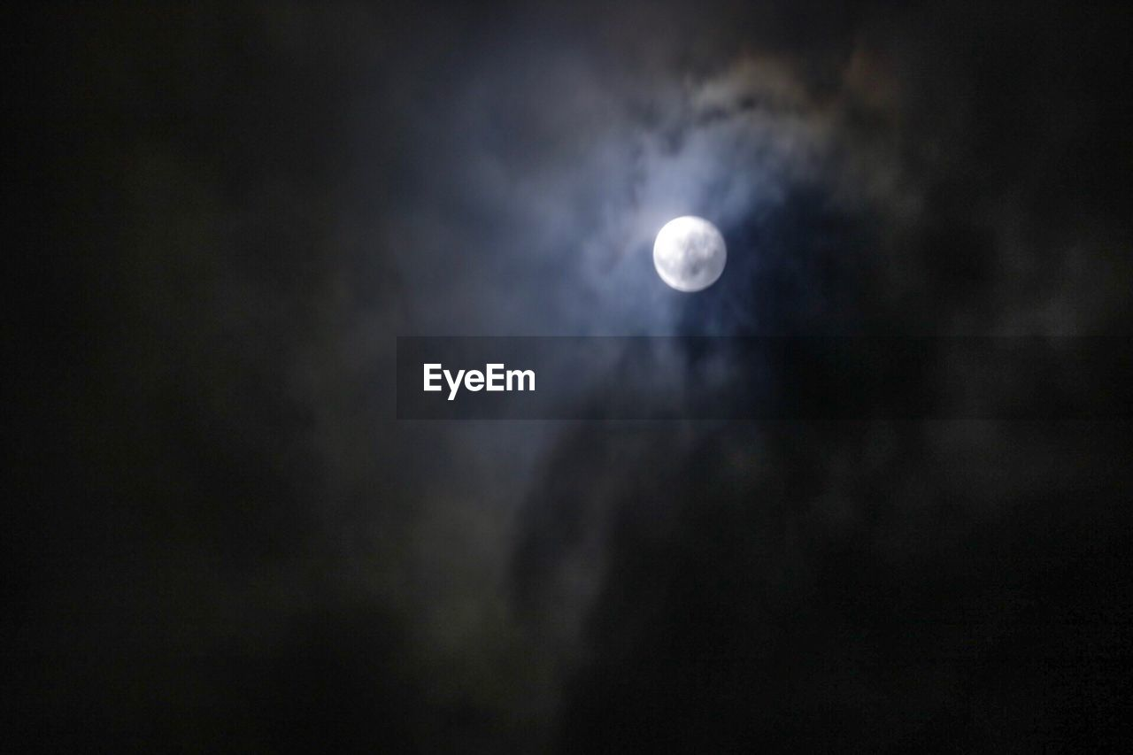 moon, night, sky, astronomy, beauty in nature, space, scenics - nature, cloud - sky, tranquility, nature, full moon, low angle view, dark, moonlight, tranquil scene, no people, outdoors, planetary moon, space exploration, eclipse