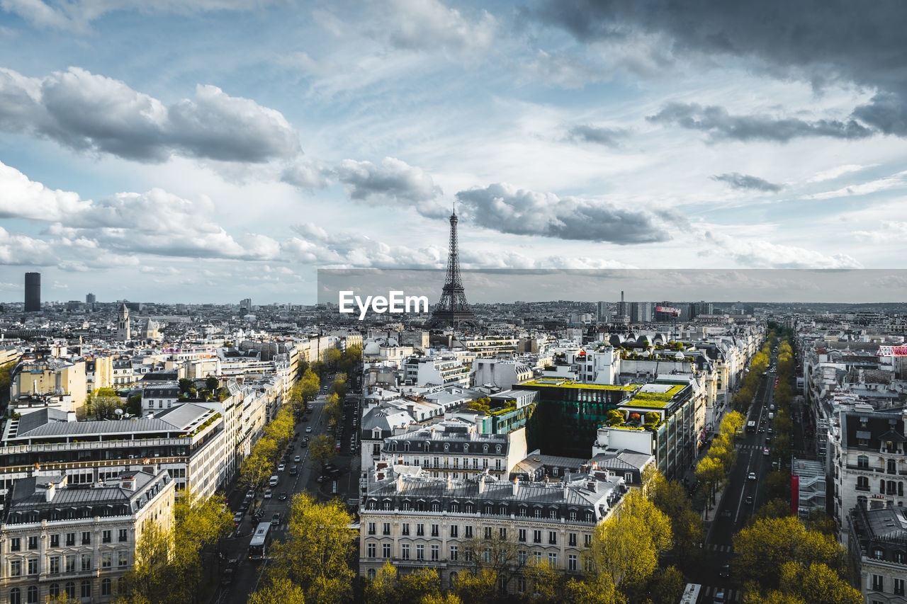 architecture, built structure, building exterior, city, cloud - sky, cityscape, sky, building, nature, travel, travel destinations, day, tourism, no people, tower, high angle view, outdoors, residential district, office building exterior, skyscraper