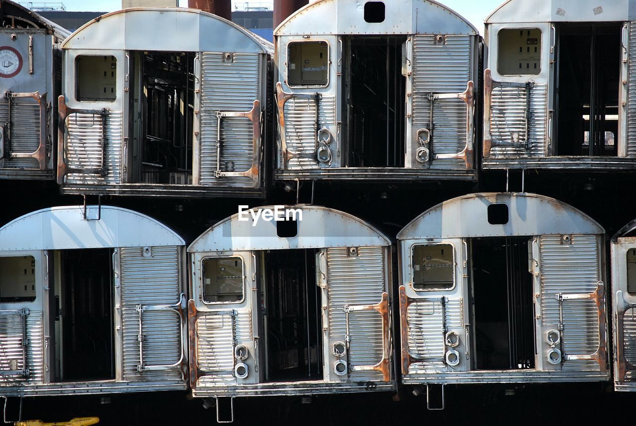 Freight Trains In Yard