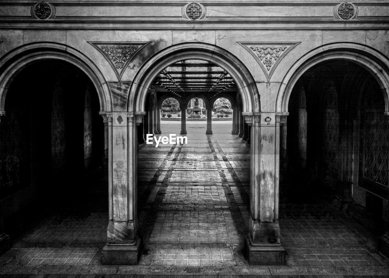 Walkway Inside Building