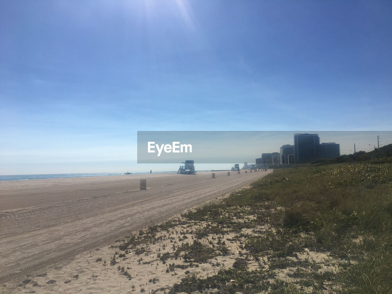 landscape, sky, day, blue, sunlight, outdoors, sand, no people, nature, architecture, scenics, city