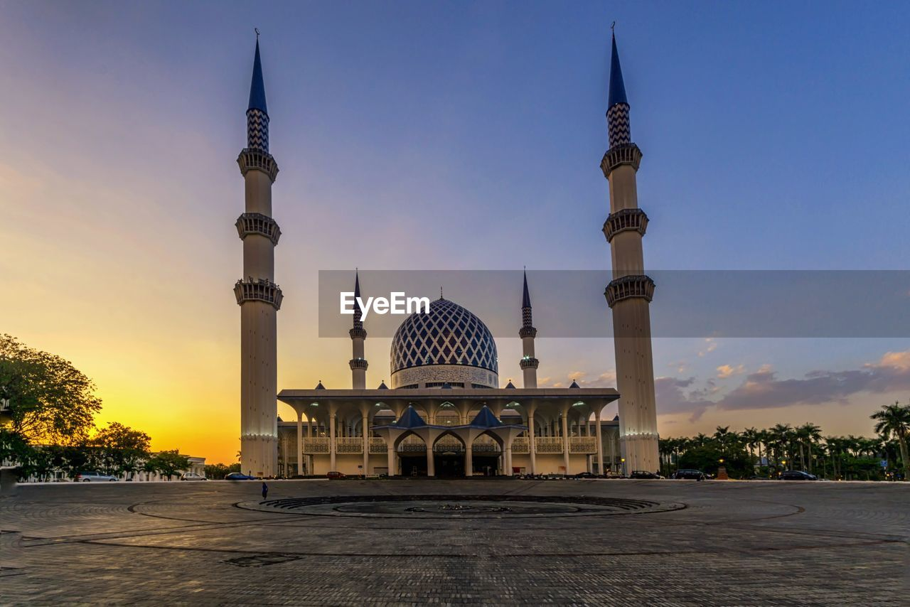 dome, architecture, sunset, travel destinations, built structure, tourism, history, religion, monument, travel, sky, outdoors, building exterior, no people, day