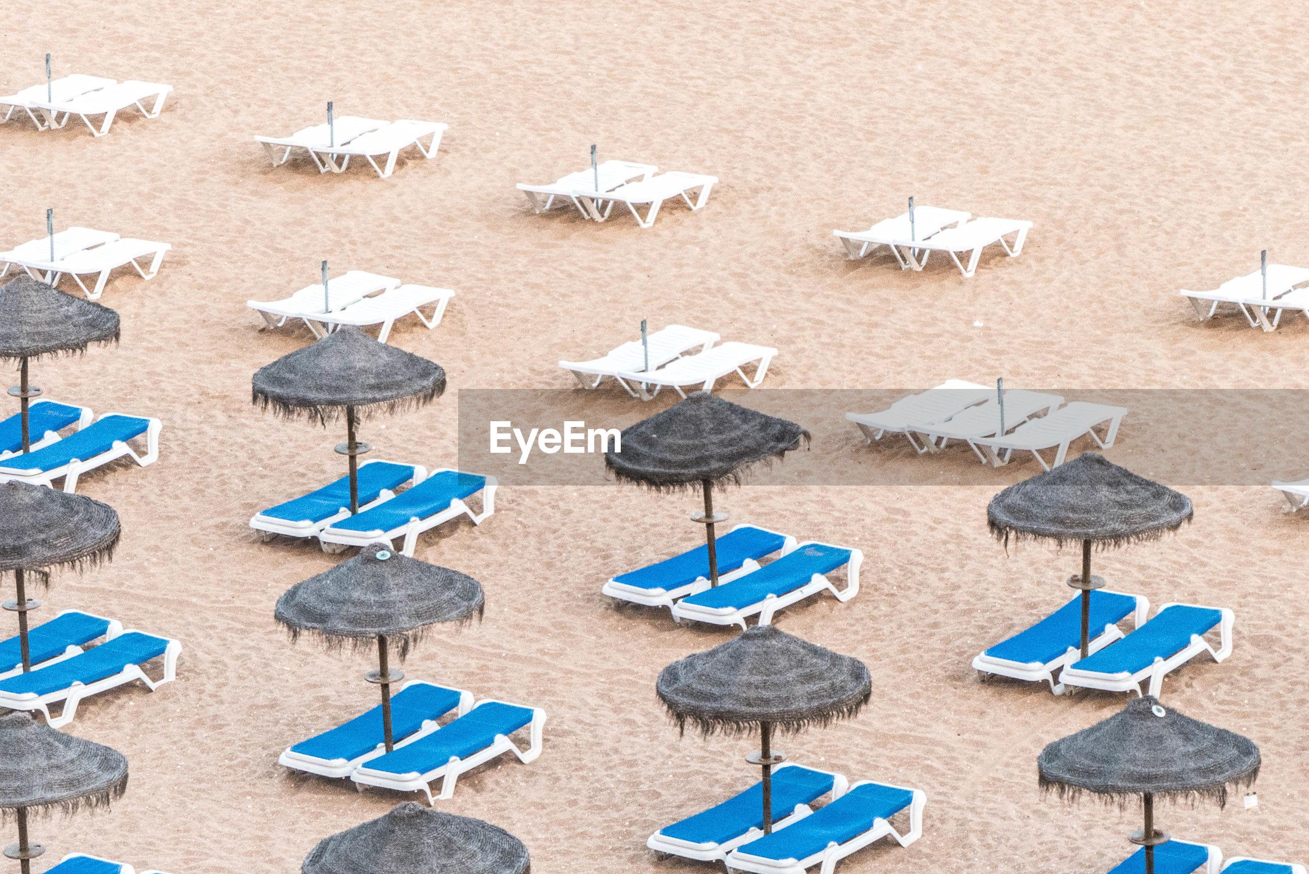 Row of umbrellas