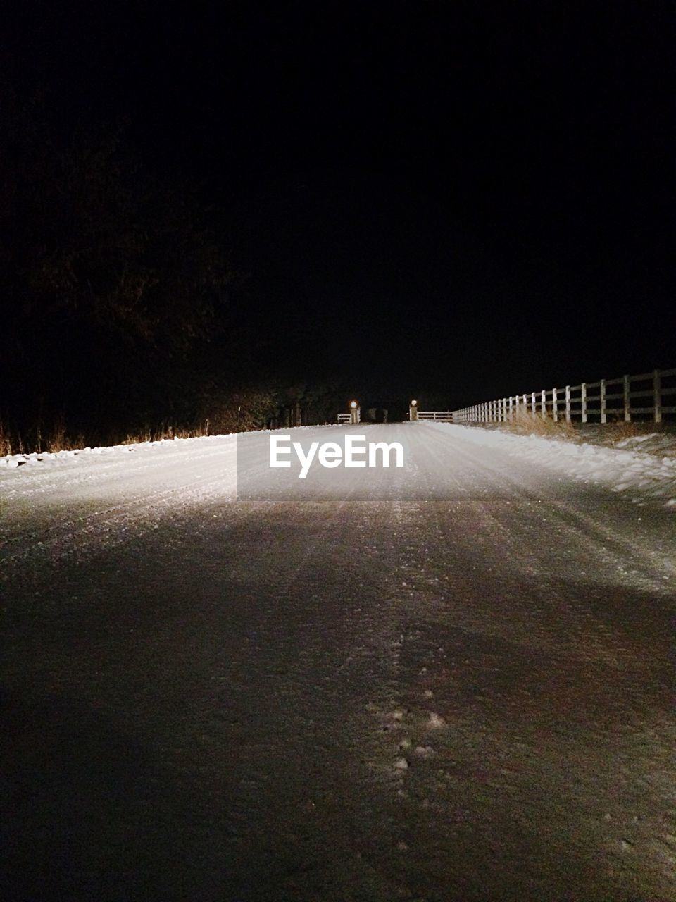 night, the way forward, winter, snow, road, no people, outdoors, cold temperature, tree, nature