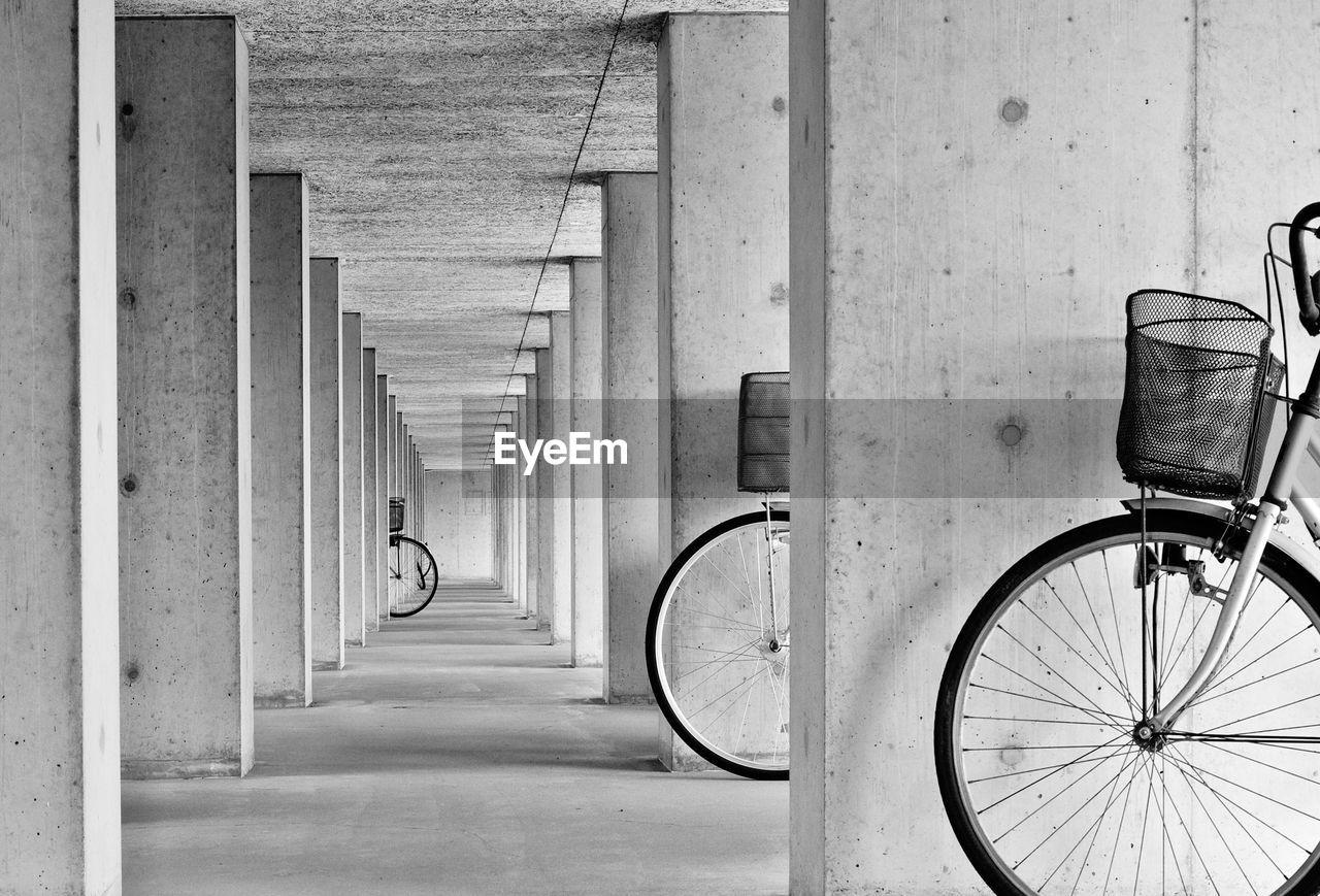 Bicycles On Corridor
