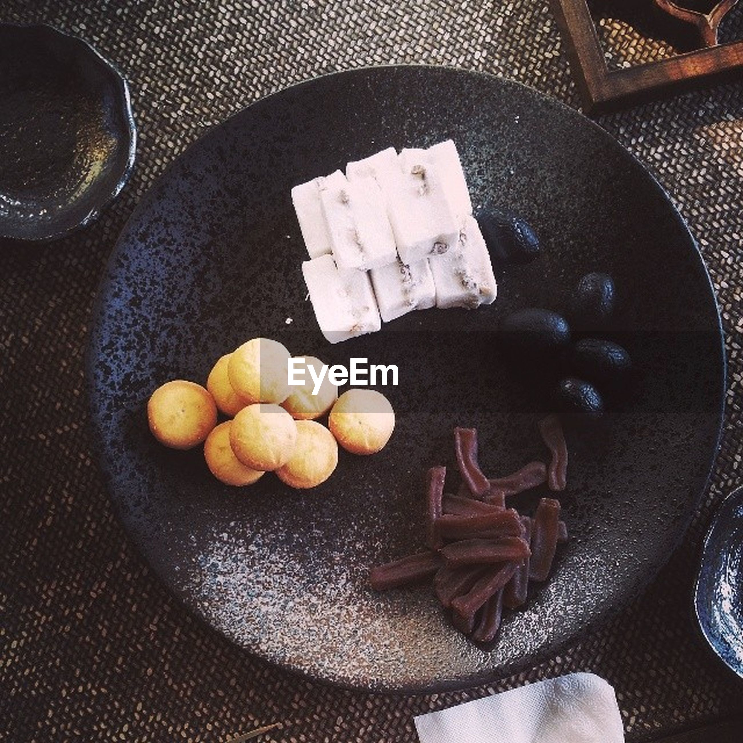 food and drink, food, freshness, indoors, healthy eating, still life, high angle view, table, fruit, bowl, directly above, plate, large group of objects, close-up, ready-to-eat, abundance, no people, egg, variation, group of objects