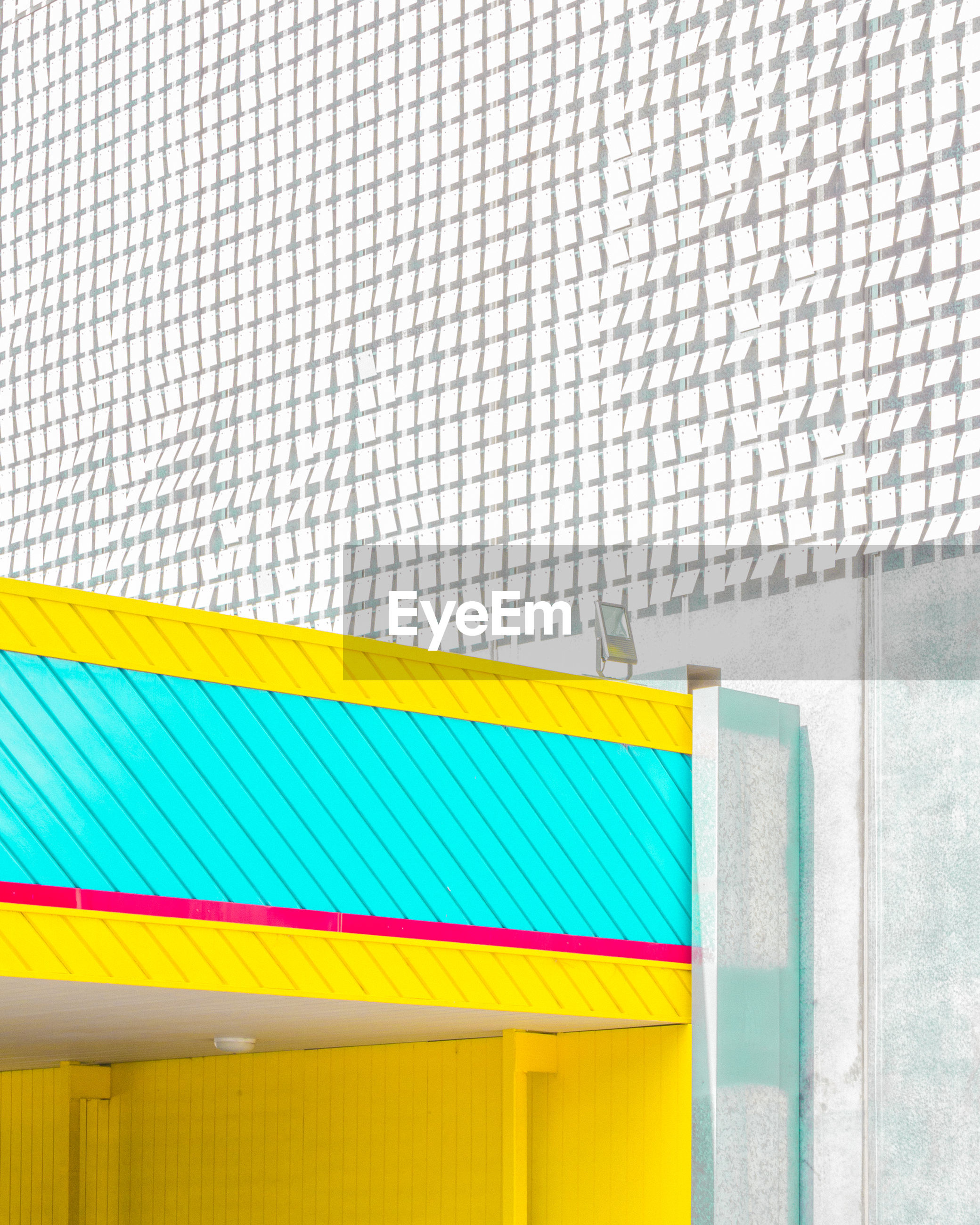 no people, architecture, yellow, day, built structure, multi colored, outdoors, building exterior, close-up