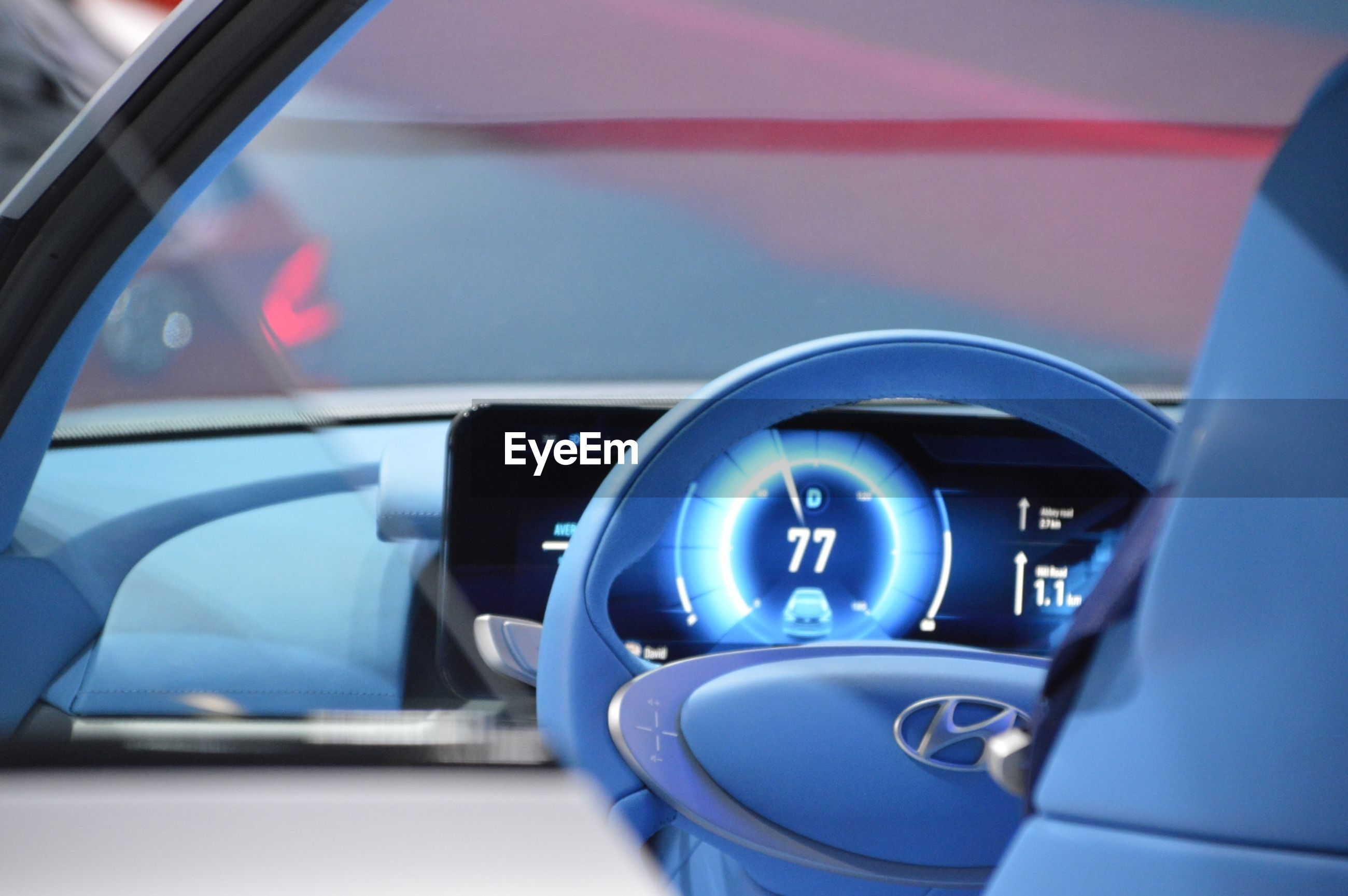 car, transportation, car interior, vehicle interior, mode of transport, land vehicle, dashboard, speedometer, close-up, steering wheel, illuminated, no people, cockpit, control panel, gearshift, indoors, gauge, day