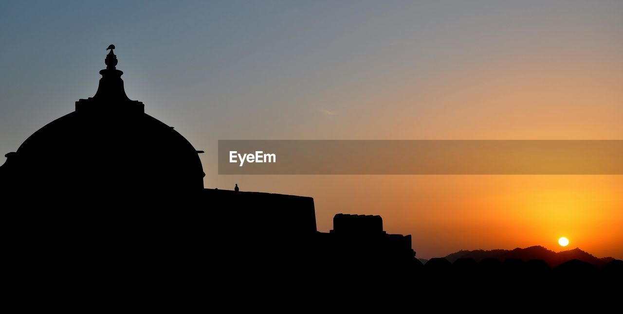 Kumbhalgarh Fort, Rajasthan, India Sunrise Silhouette Sunrise Sunset Silhouettes Historical Monuments Historical Building Fort Sillouette The Architect - 2019 EyeEm Awards