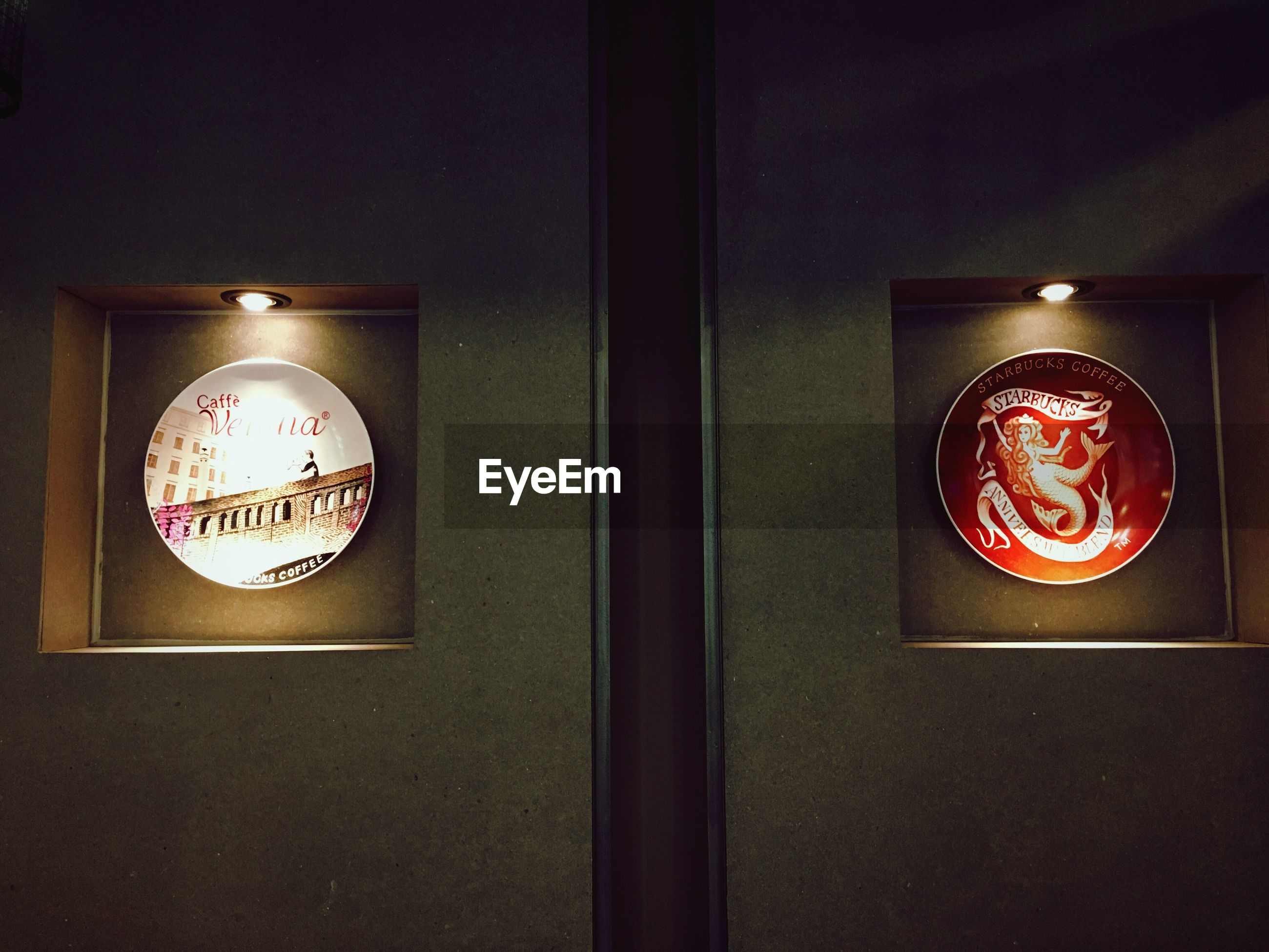 communication, illuminated, text, time, red, western script, close-up, clock, night, lighting equipment, number, sign, indoors, circle, wall - building feature, no people, low angle view, information sign, capital letter, decoration