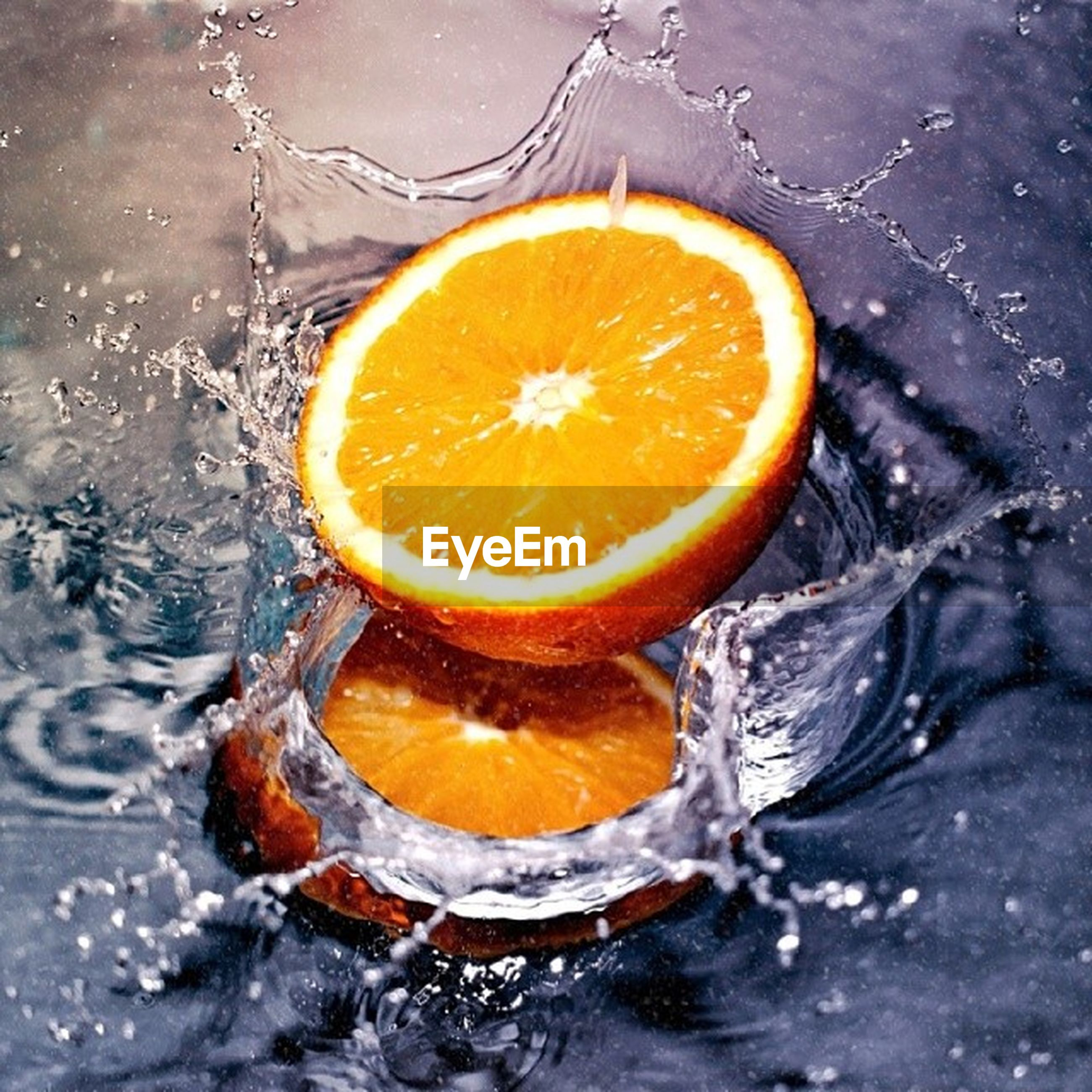 food and drink, freshness, food, healthy eating, close-up, orange color, yellow, citrus fruit, slice, still life, water, high angle view, fruit, indoors, lemon, no people, orange - fruit, refreshment, table, directly above