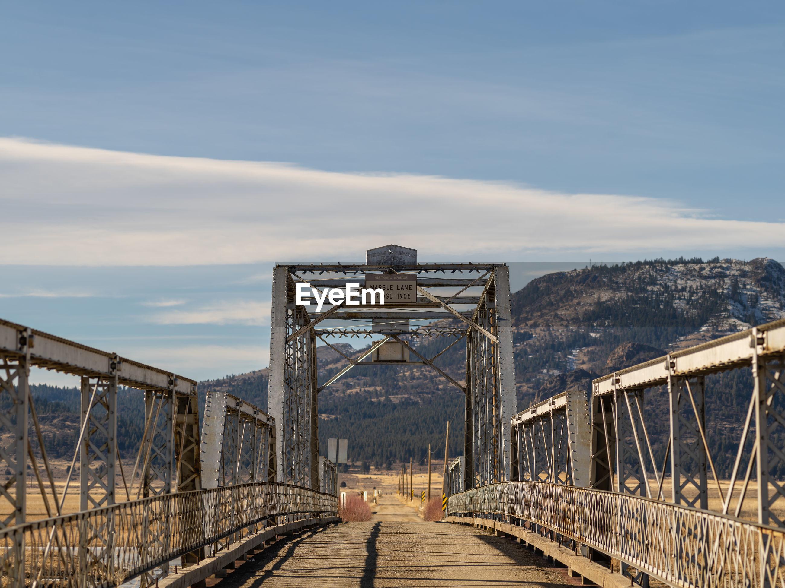 Historic bridge in northern california.