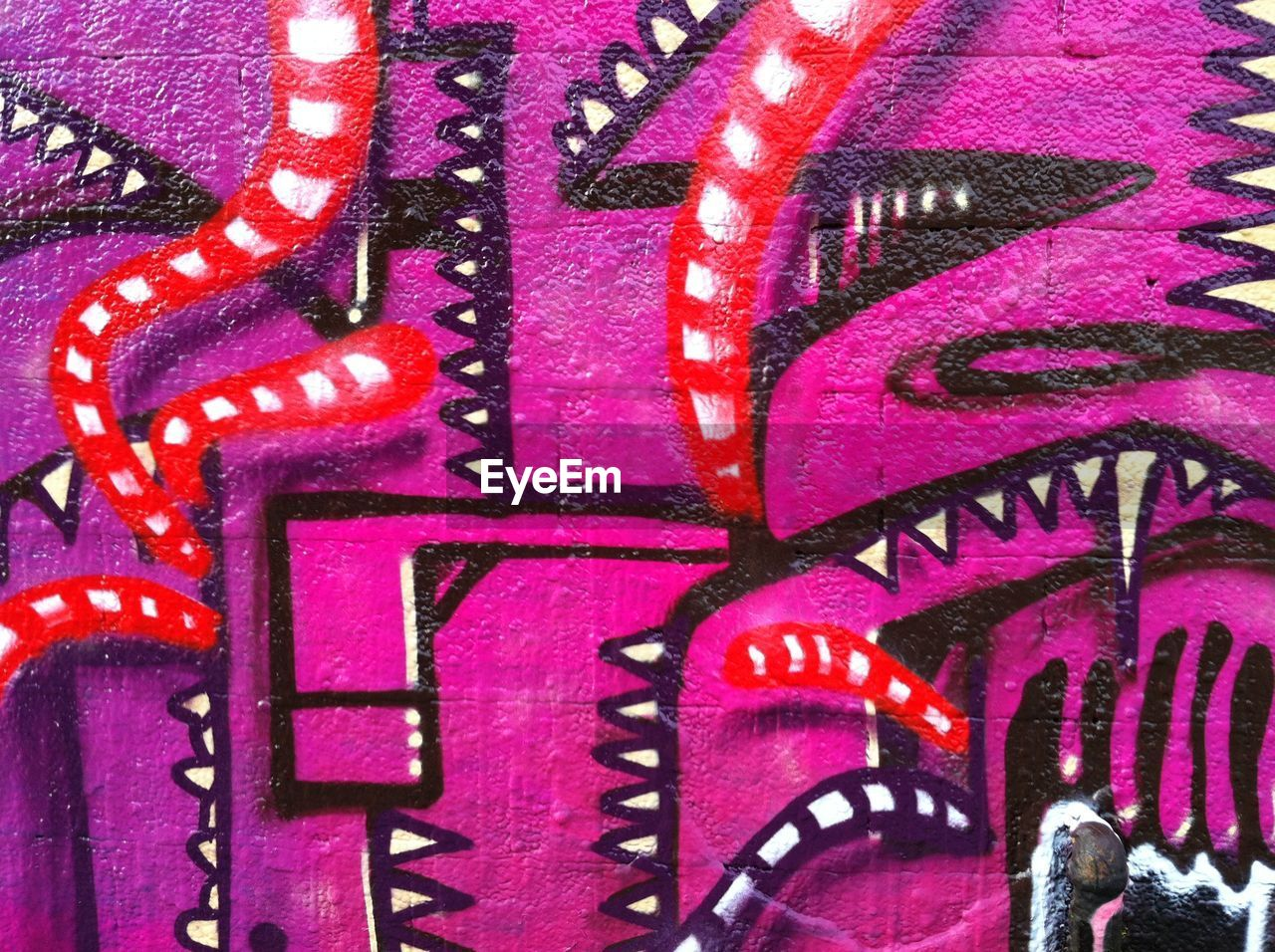 art and craft, graffiti, full frame, backgrounds, pink color, close-up, no people, multi colored, indoors, illuminated, architecture, day