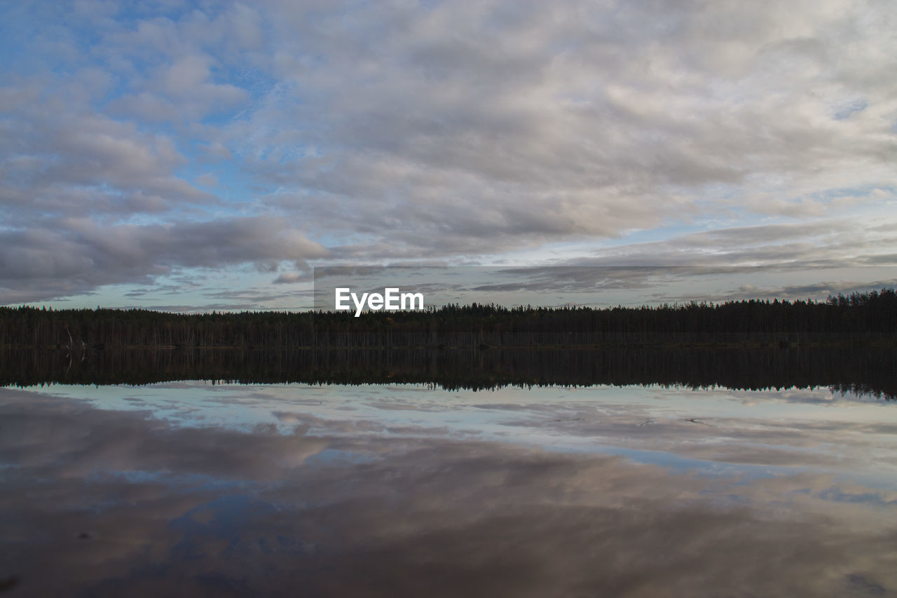 cloud - sky, water, sky, tranquility, nature, scenics, beauty in nature, outdoors, no people, tranquil scene, lake, day, sunset, tree