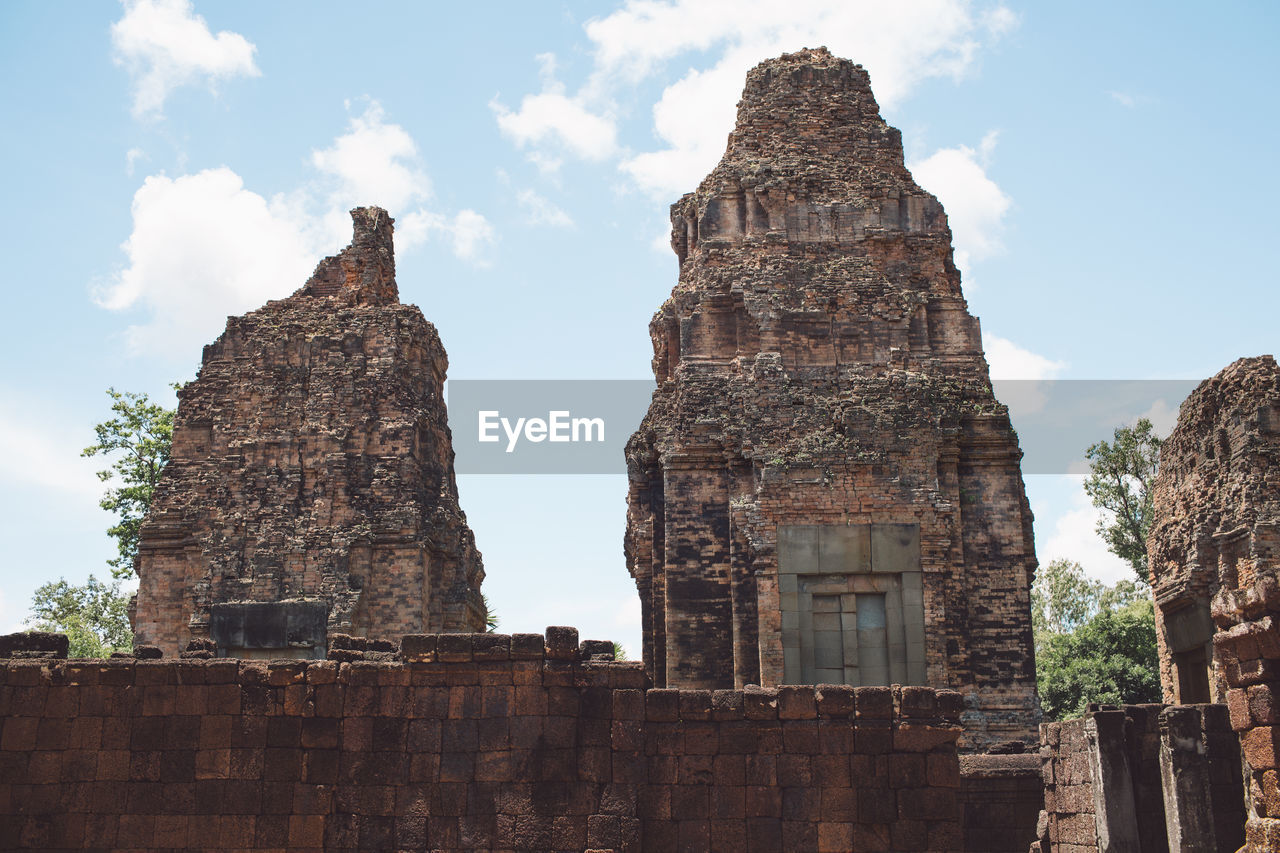 built structure, architecture, sky, travel destinations, the past, history, travel, ancient, building exterior, tourism, old, place of worship, nature, old ruin, religion, building, day, low angle view, ancient civilization, no people, outdoors, ruined, archaeology