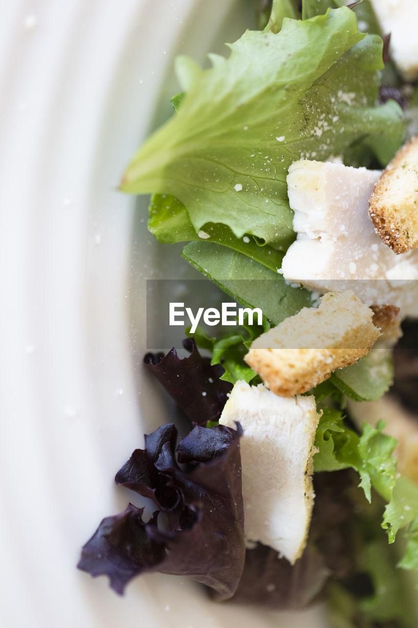CLOSE-UP OF DESSERT ON PLATE