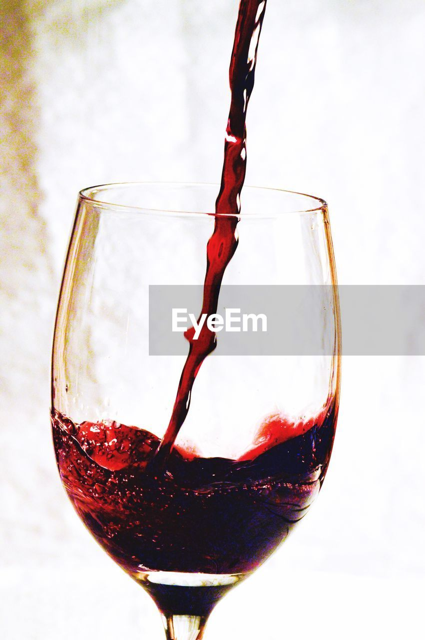 Close-Up Of Red Wine