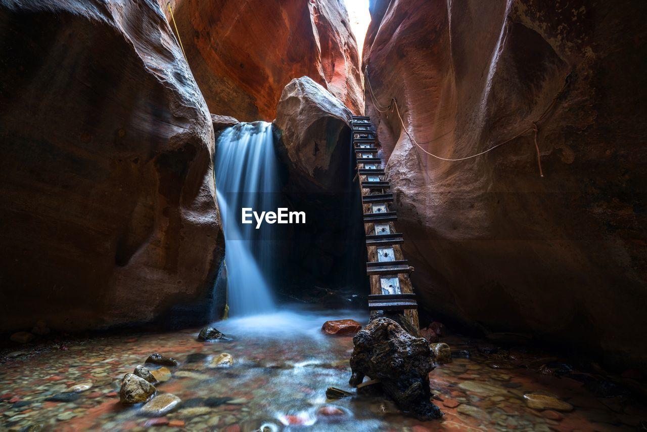 Ladder By Kanarraville Falls
