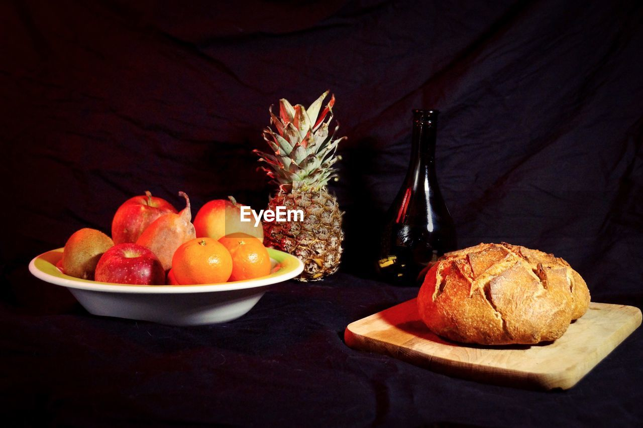 food and drink, food, freshness, still life, table, healthy eating, fruit, wellbeing, indoors, no people, plate, red, celebration, close-up, holiday, christmas, ready-to-eat, indulgence, high angle view, bowl, temptation