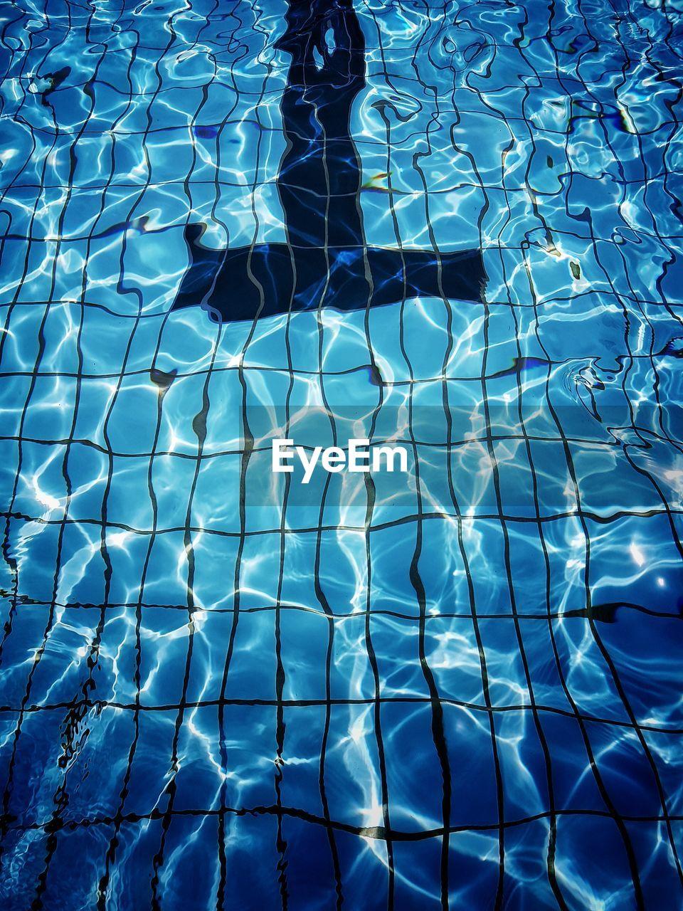 Full Frame Shot Of Empty Swimming Pool